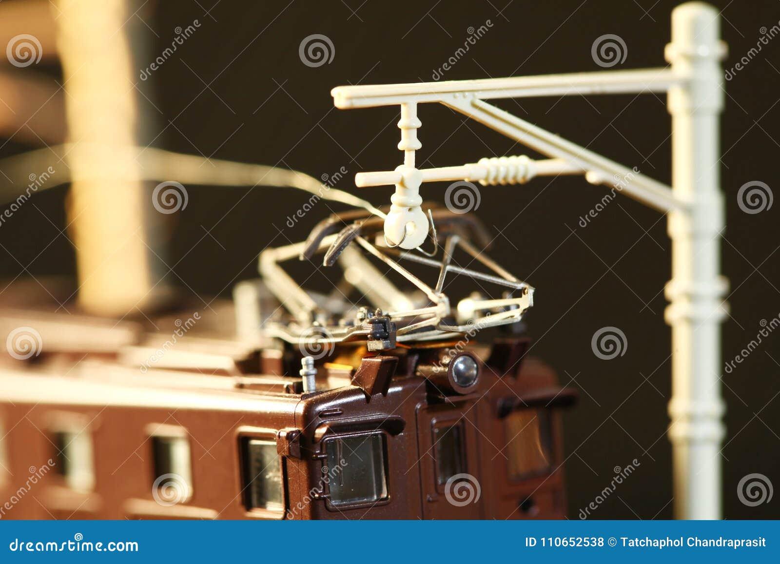 Сцена модели игрушки железной дороги миниатюры