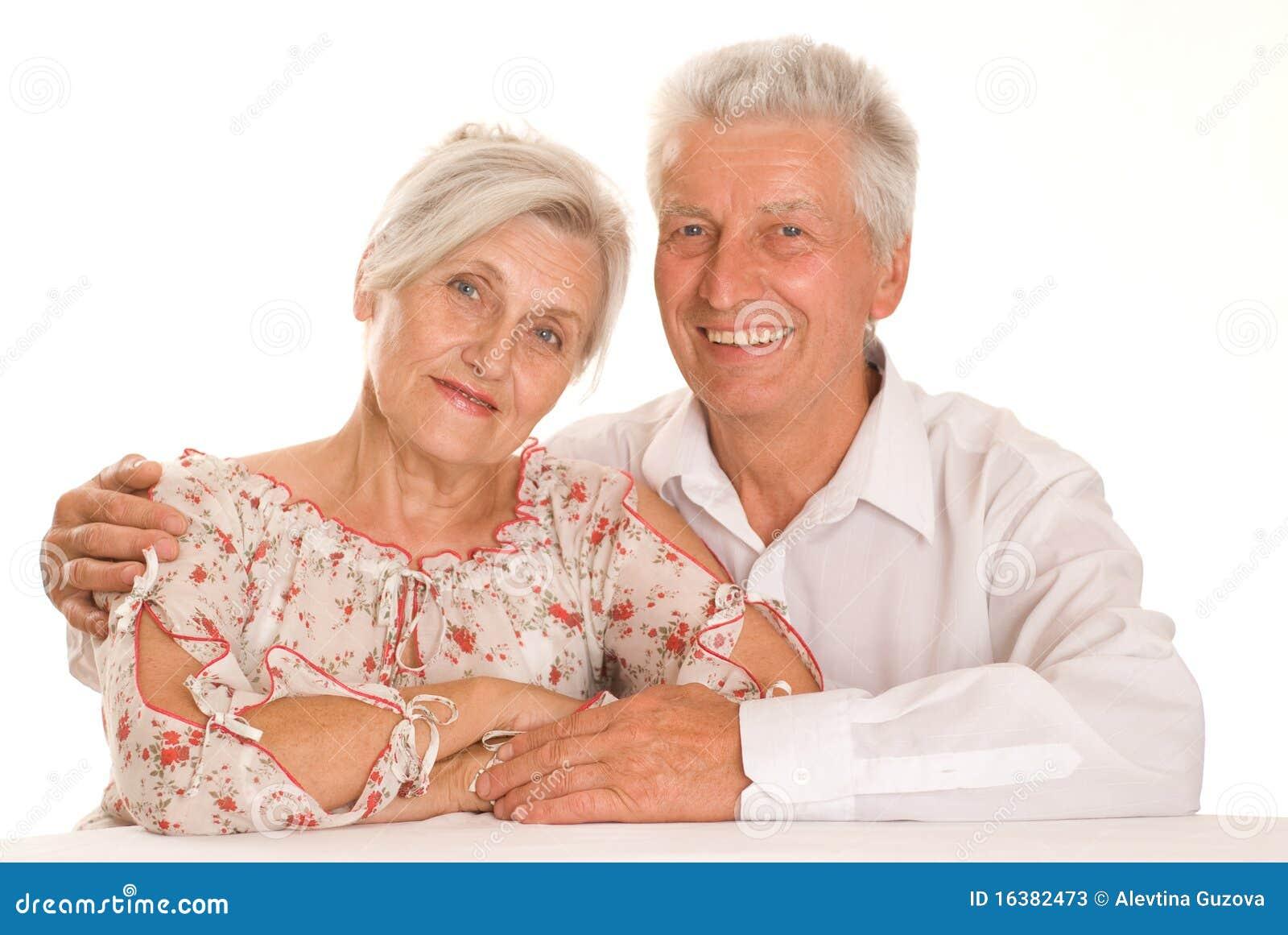 Счастливые пожилые пары