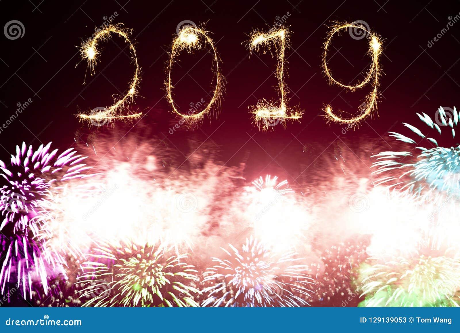 Счастливые фейерверки 2019 Нового Года