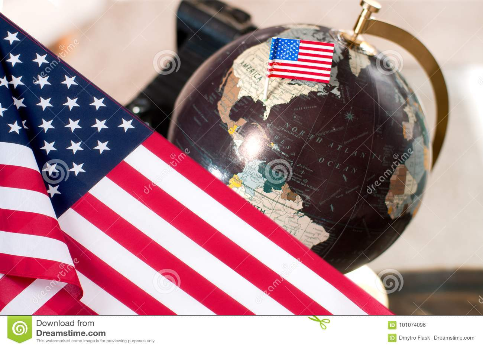 Счастливый день columbus соединенные государства флага