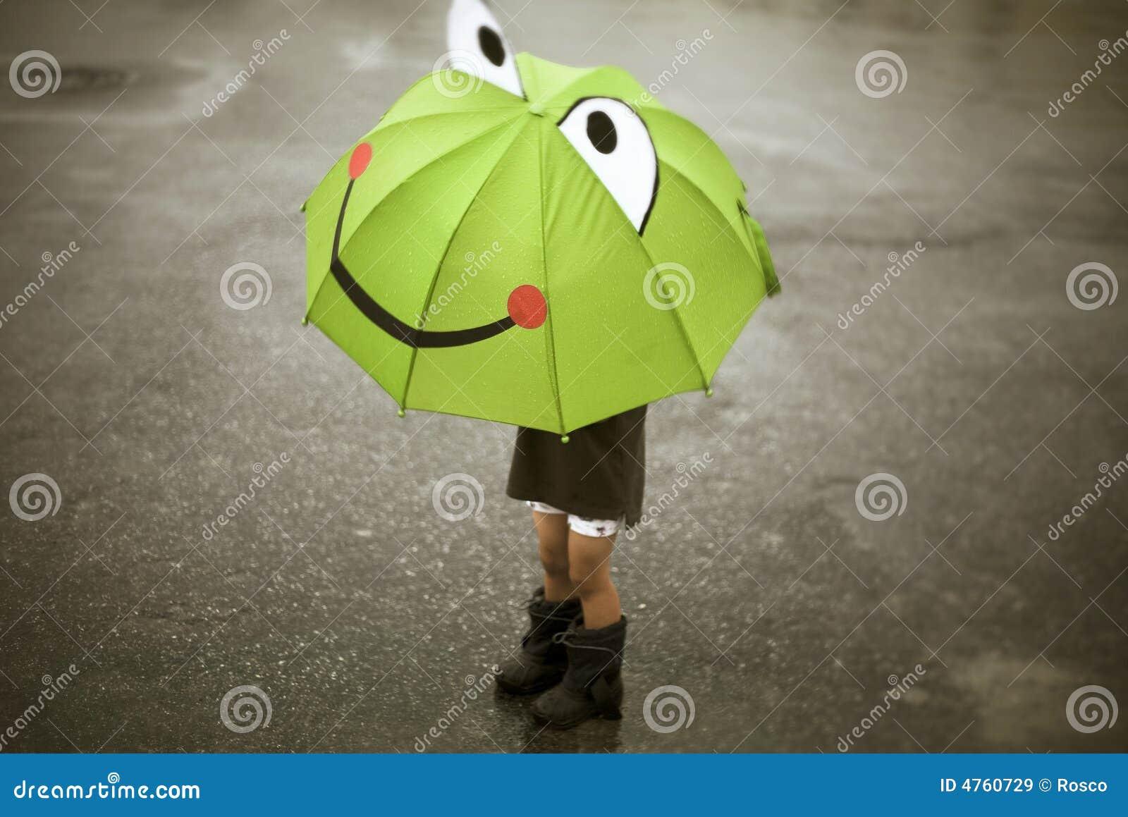 счастливый дождь