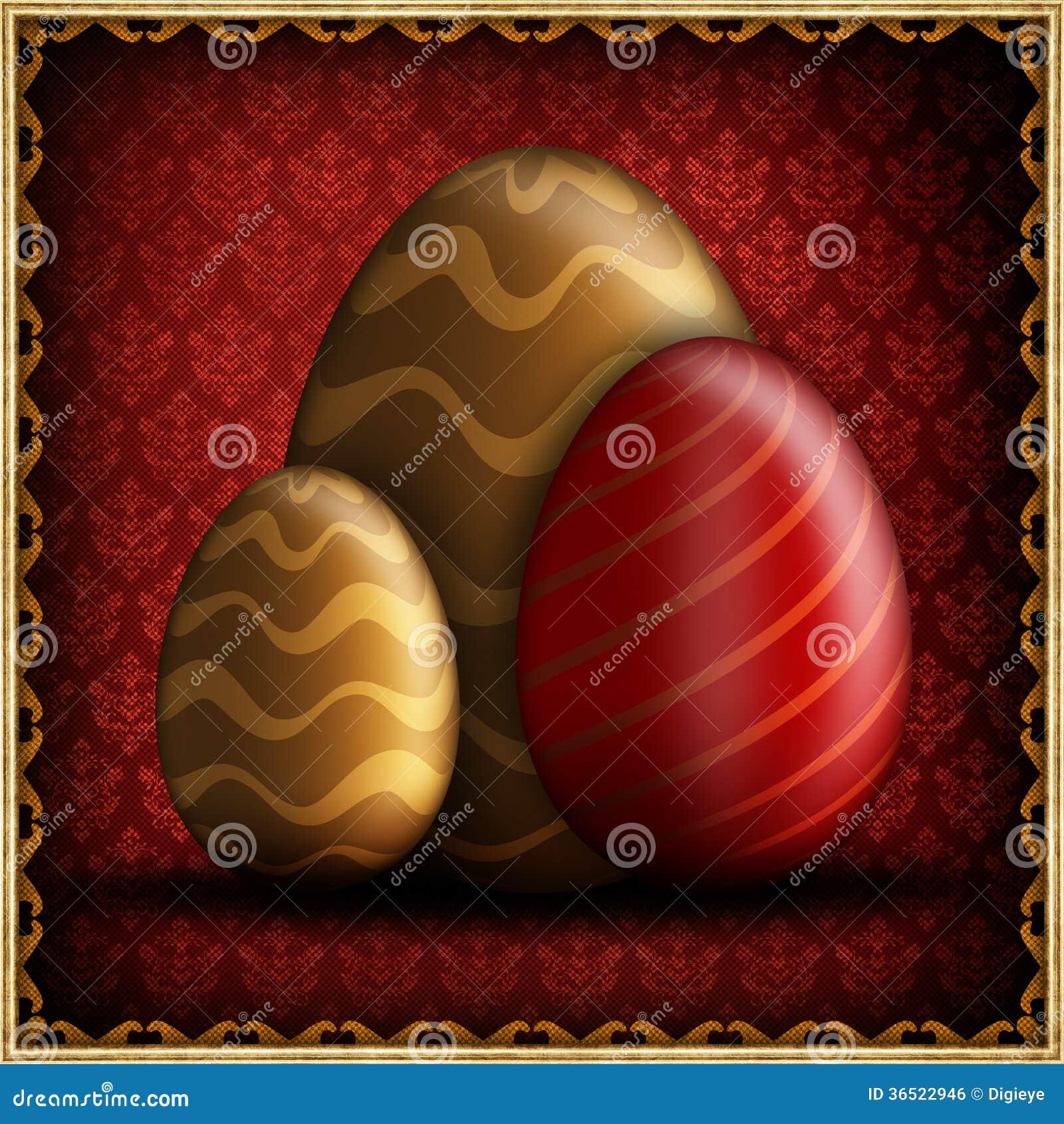 Счастливая поздравительная открытка пасхи