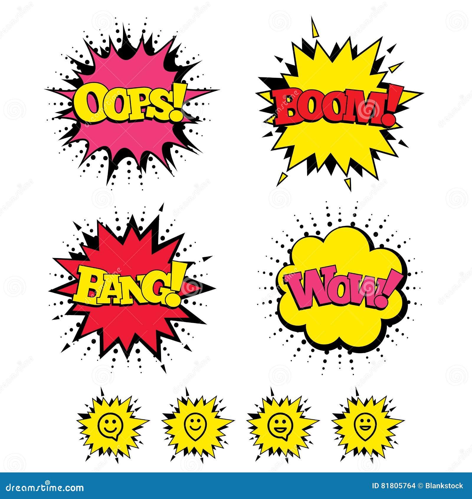 Счастливые значки пузыря речи стороны Символ указателя