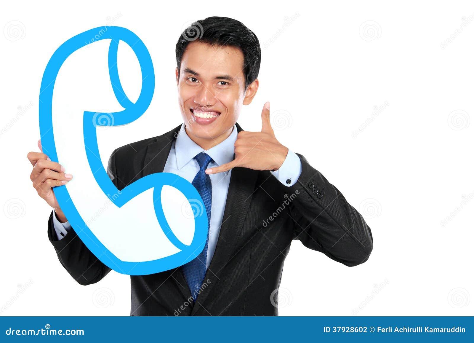 Счастливый оператор центра телефонного обслуживания