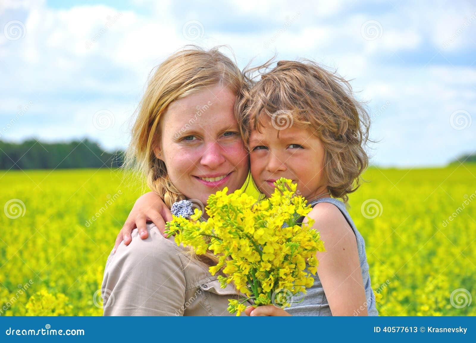 счастливый сынок мати