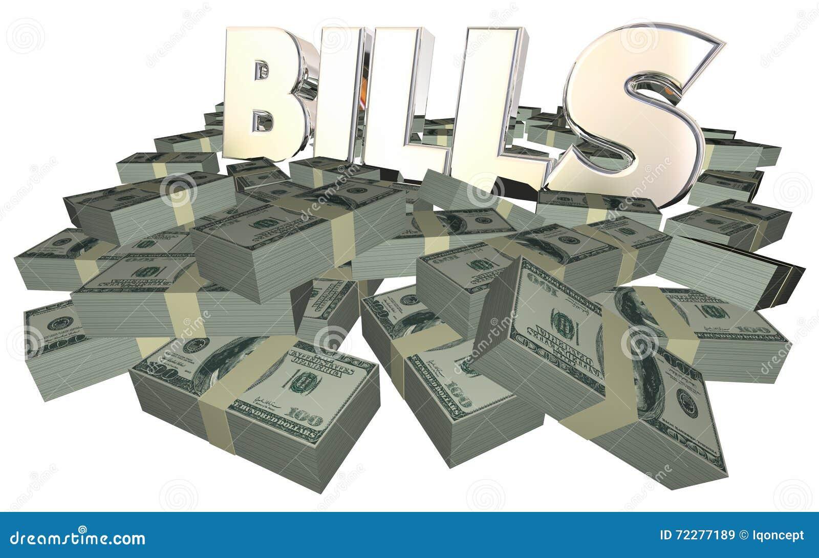 Download Счеты оплачивая стога куч наличных денег оплаты фактуры задолжанные деньгами Иллюстрация штока - иллюстрации насчитывающей доллар, заработайте: 72277189