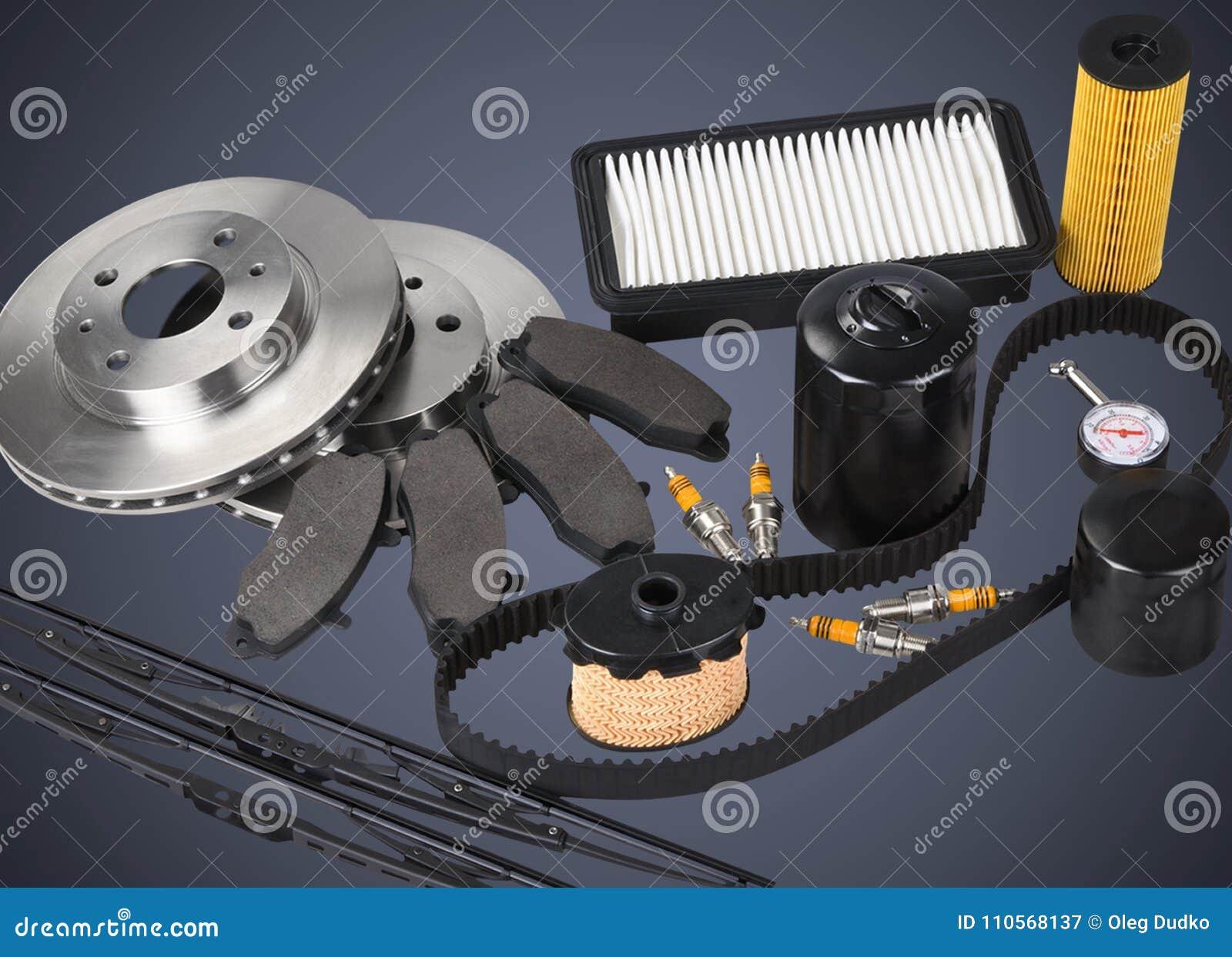 Счищатели, воздушные фильтры, свечи зажигания, пояс кулачка и