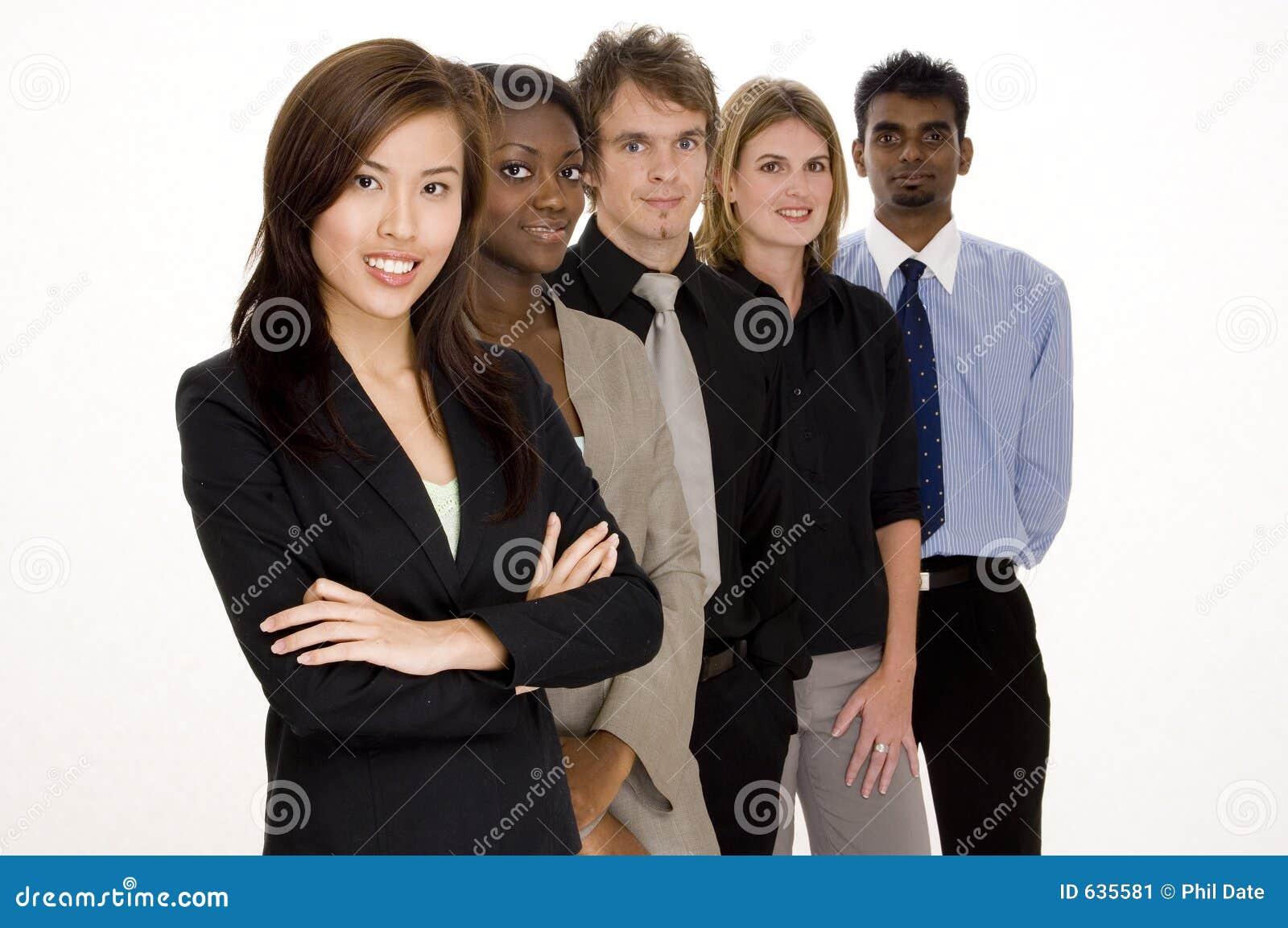 Download сыгранность дела стоковое изображение. изображение насчитывающей бизнесмены - 635581