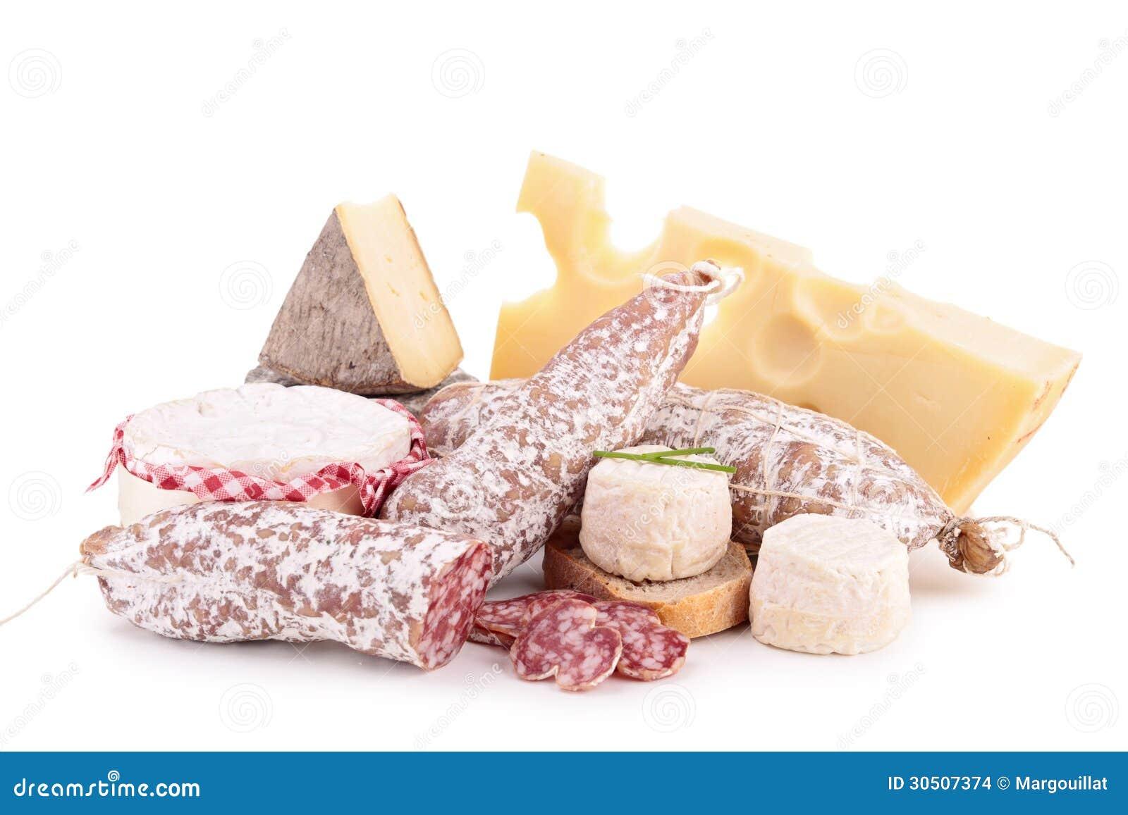 Сыр, сосиска