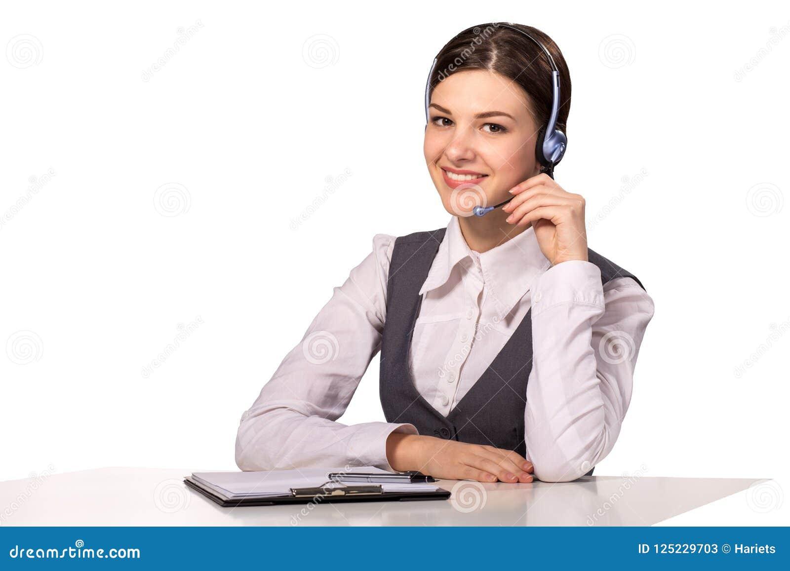 сь женщина поддержка оператора шлемофона клиента женская