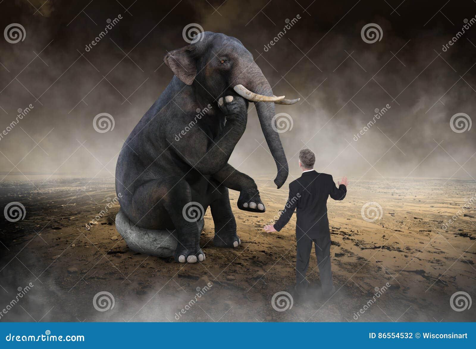 Сюрреалистический слон думает, идеи, нововведение