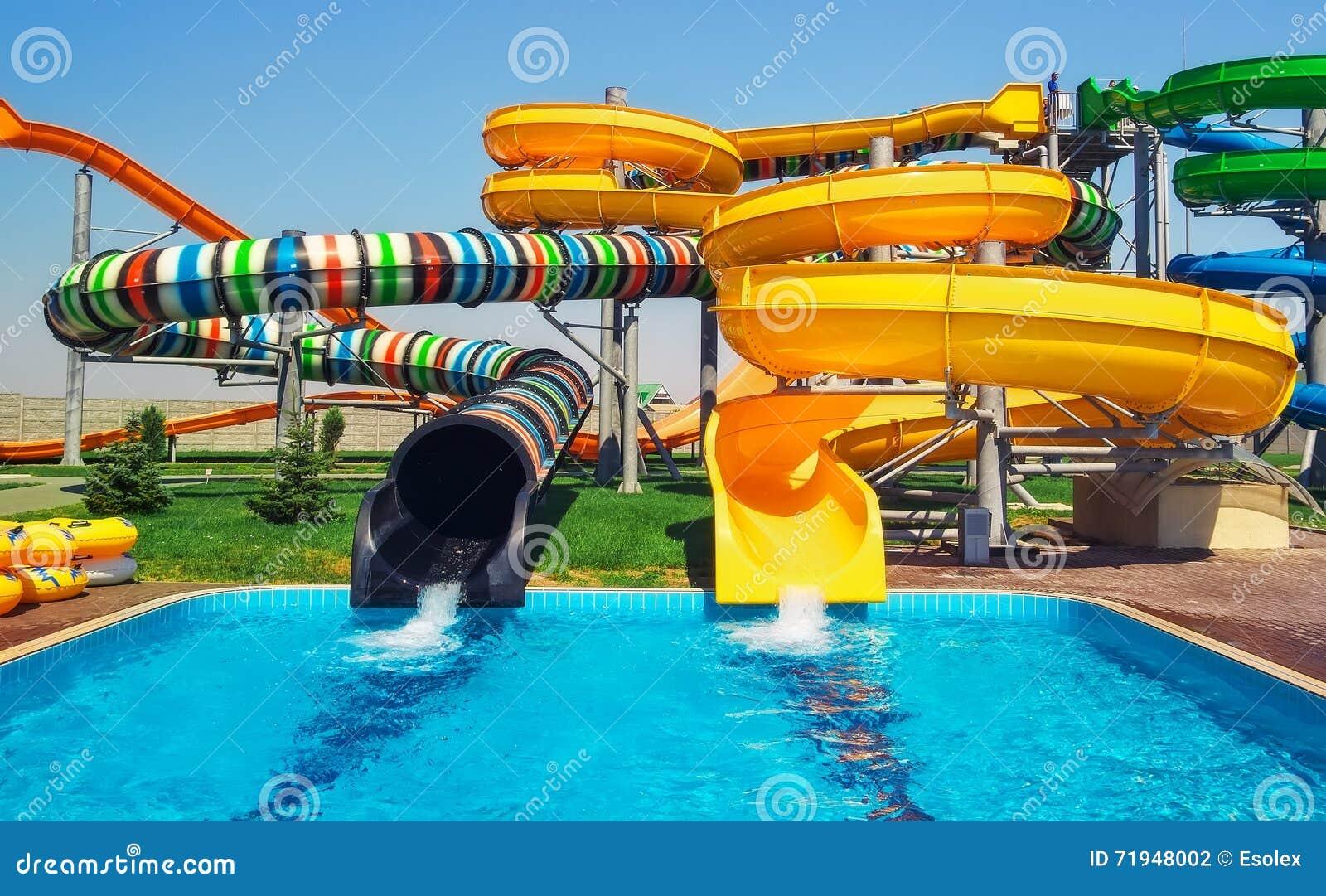 Слайдеры Aquapark, парк aqua