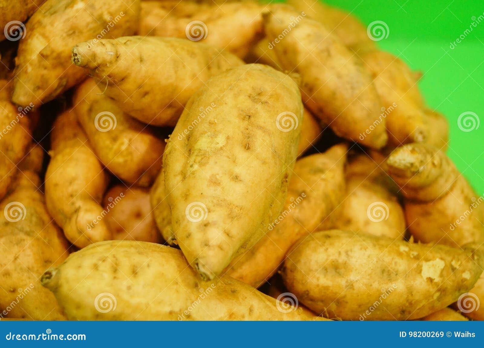 Download Сладкий картофель, произведенный в провинции Цзянси Китая Стоковое Изображение - изображение насчитывающей экологическо, еда: 98200269
