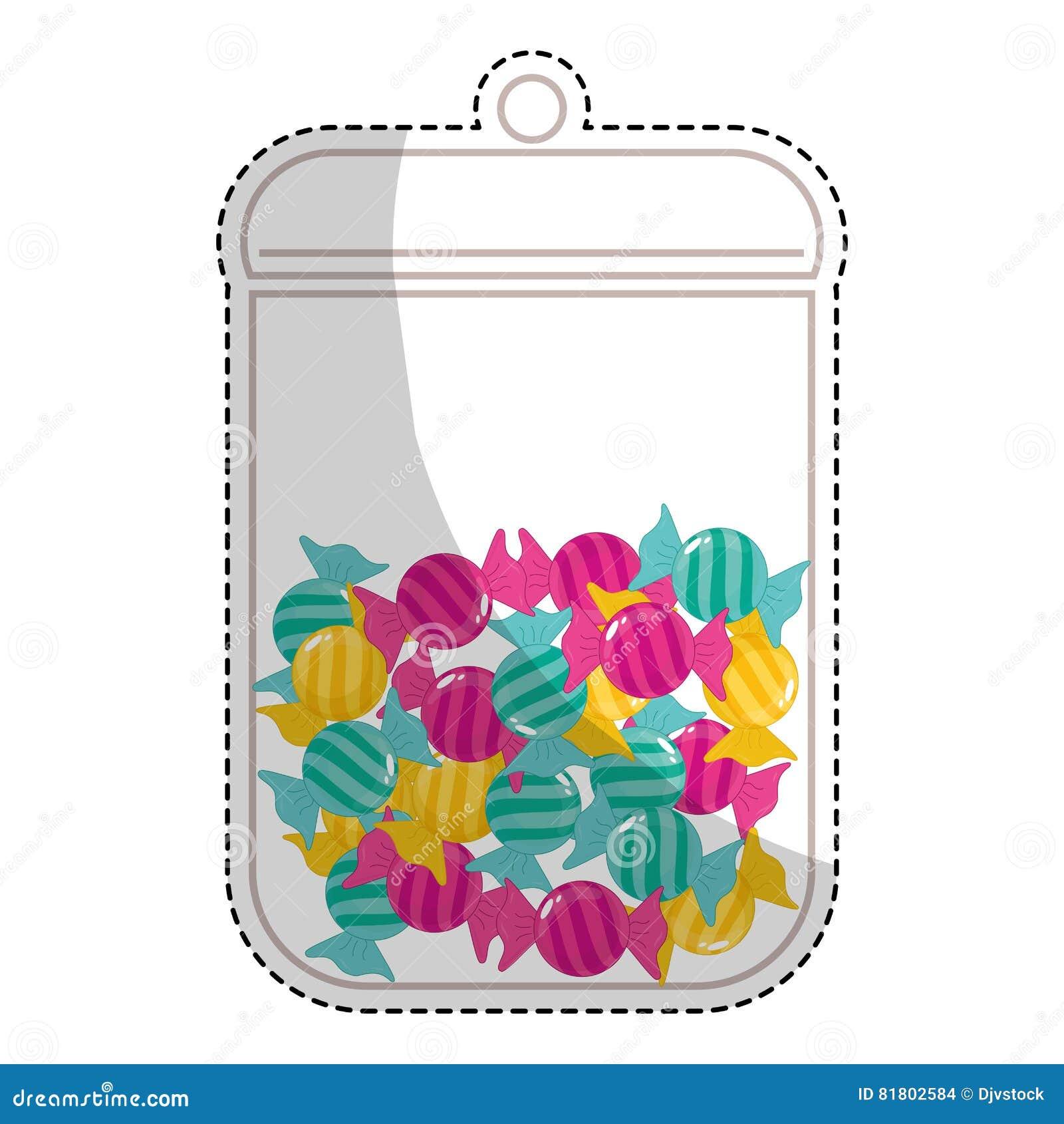 сладостный дизайн конфеты