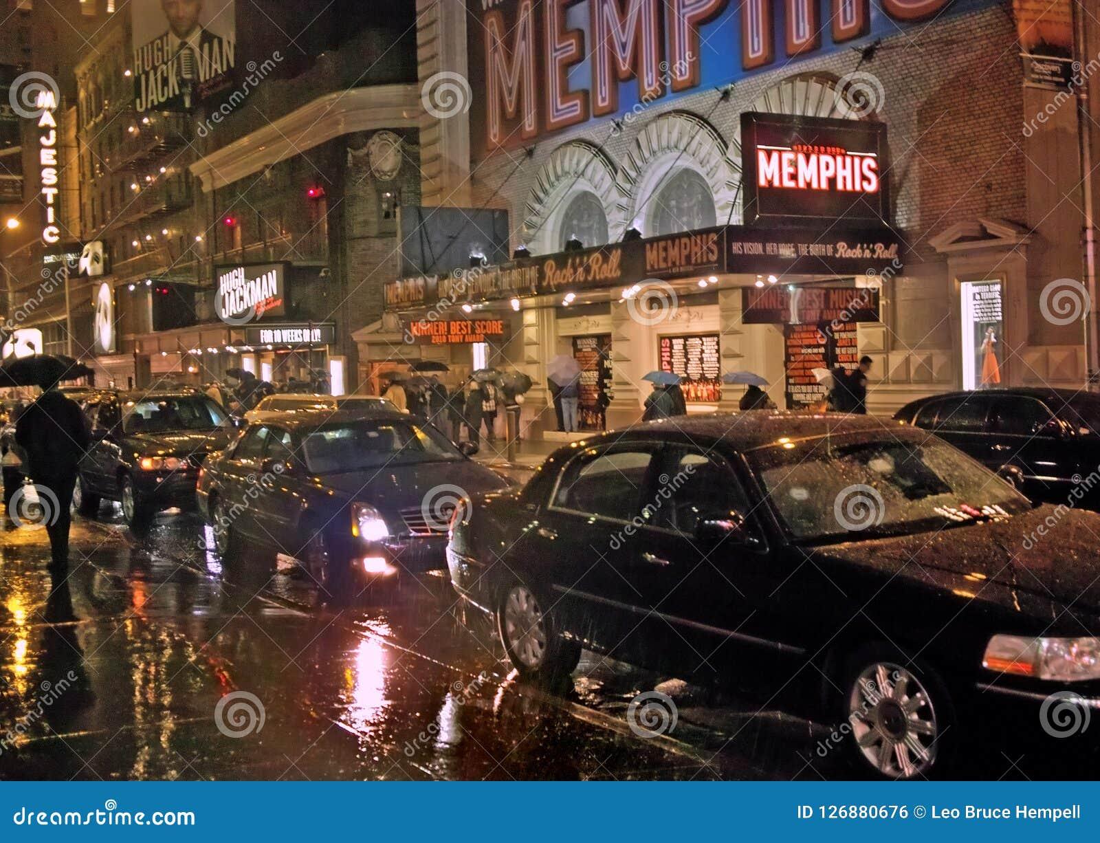 С выставок Бродвей, Нью-Йорк 23-ье ноября 2011