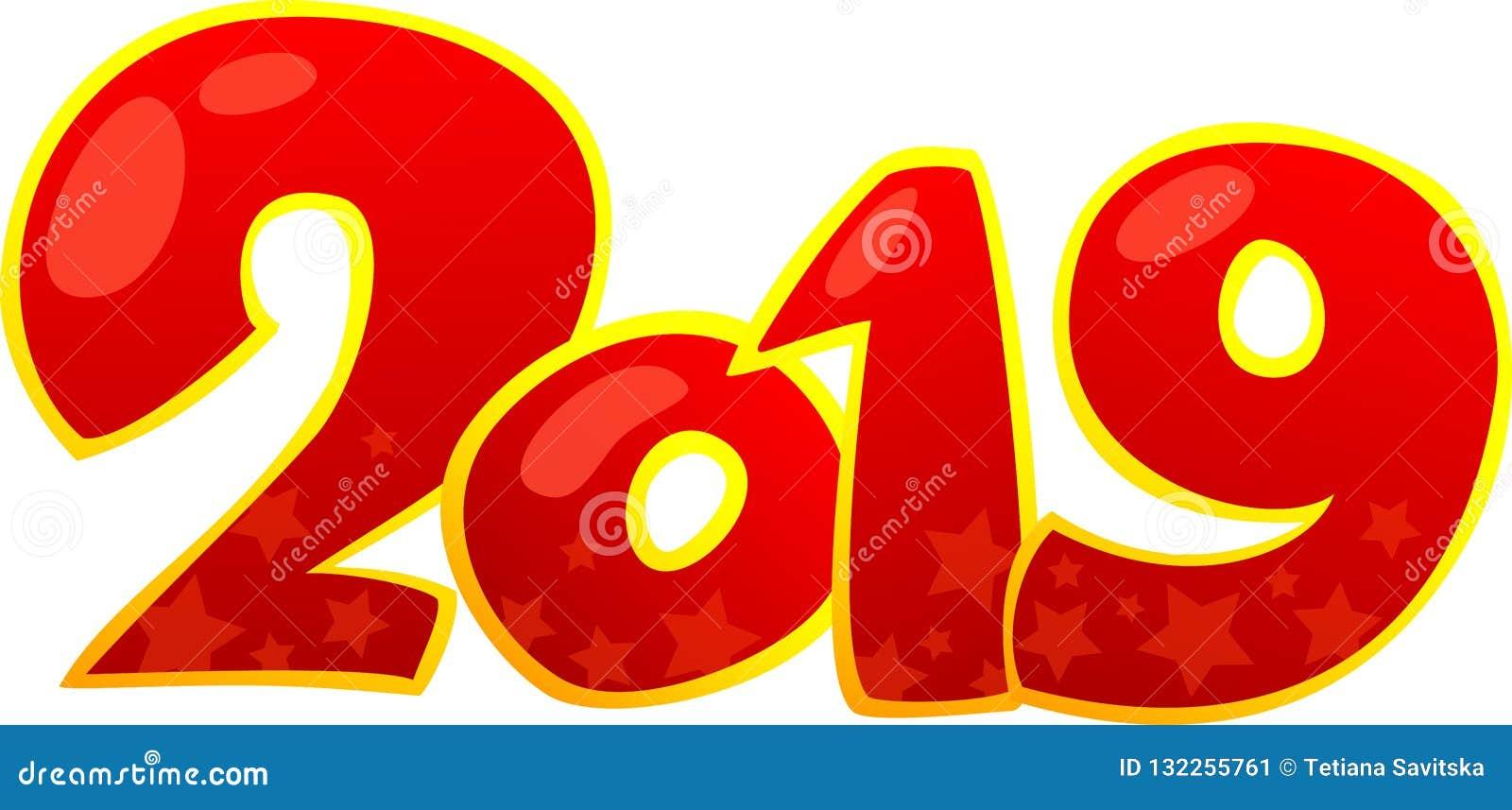 2019 С Новым Годом! элементов дизайна
