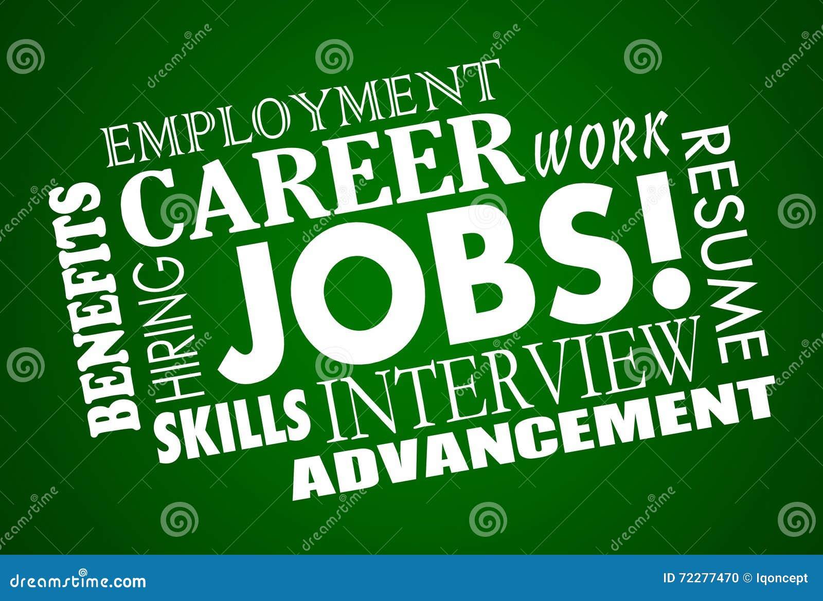 Download Слова интервью рабочего места интервью карьеры работ Иллюстрация штока - иллюстрации насчитывающей получка, занятость: 72277470