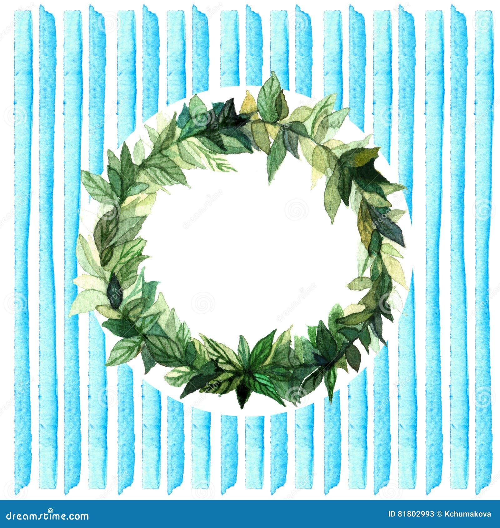 Слова спасибо в простом и милом флористическом венке круга с ветвями весны выходят банкы рисуя цветя замотку акварели валов реки