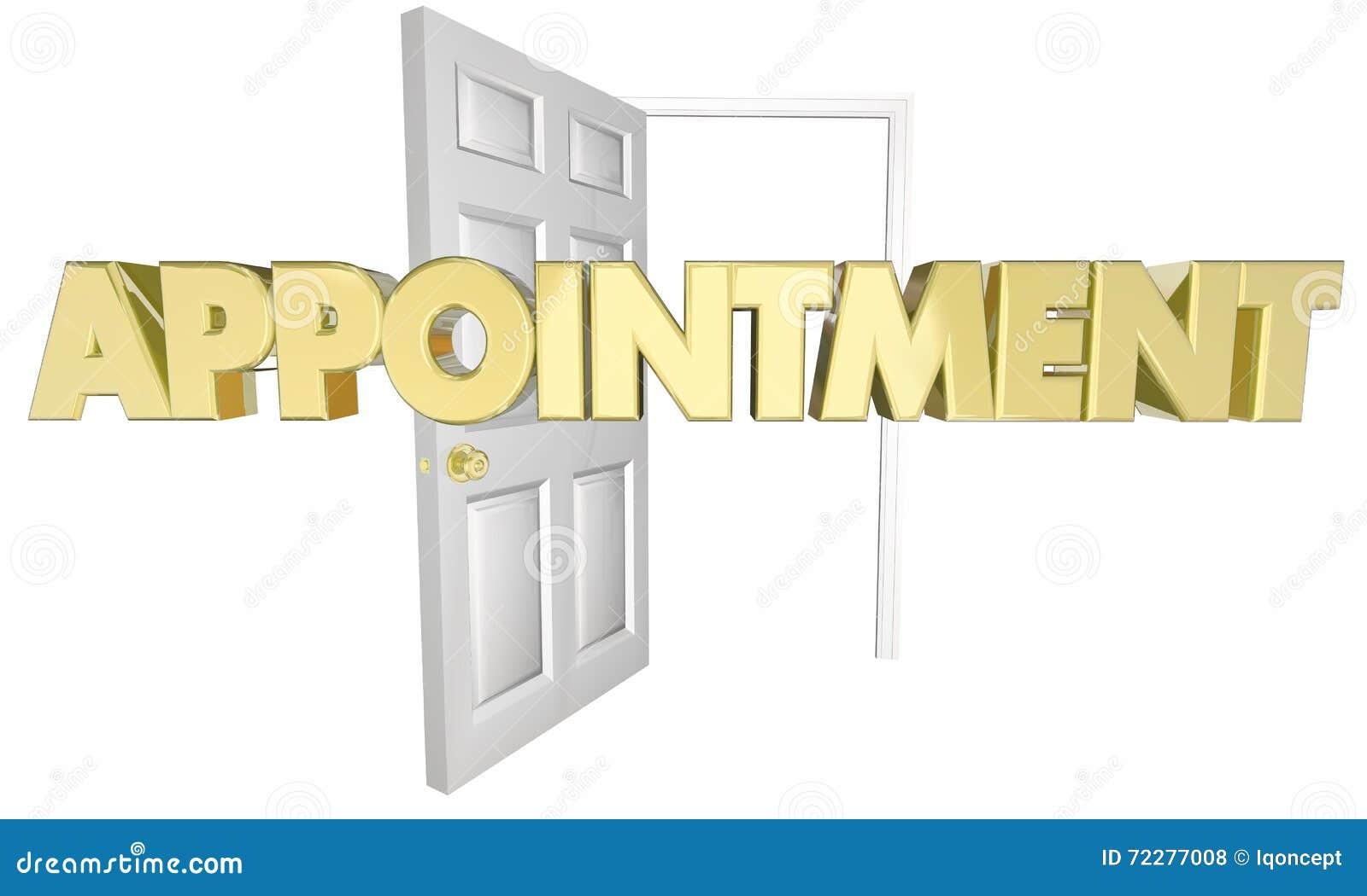 Download Слово двери отверстия встречи назначения Иллюстрация штока - иллюстрации насчитывающей консультация, приезжают: 72277008