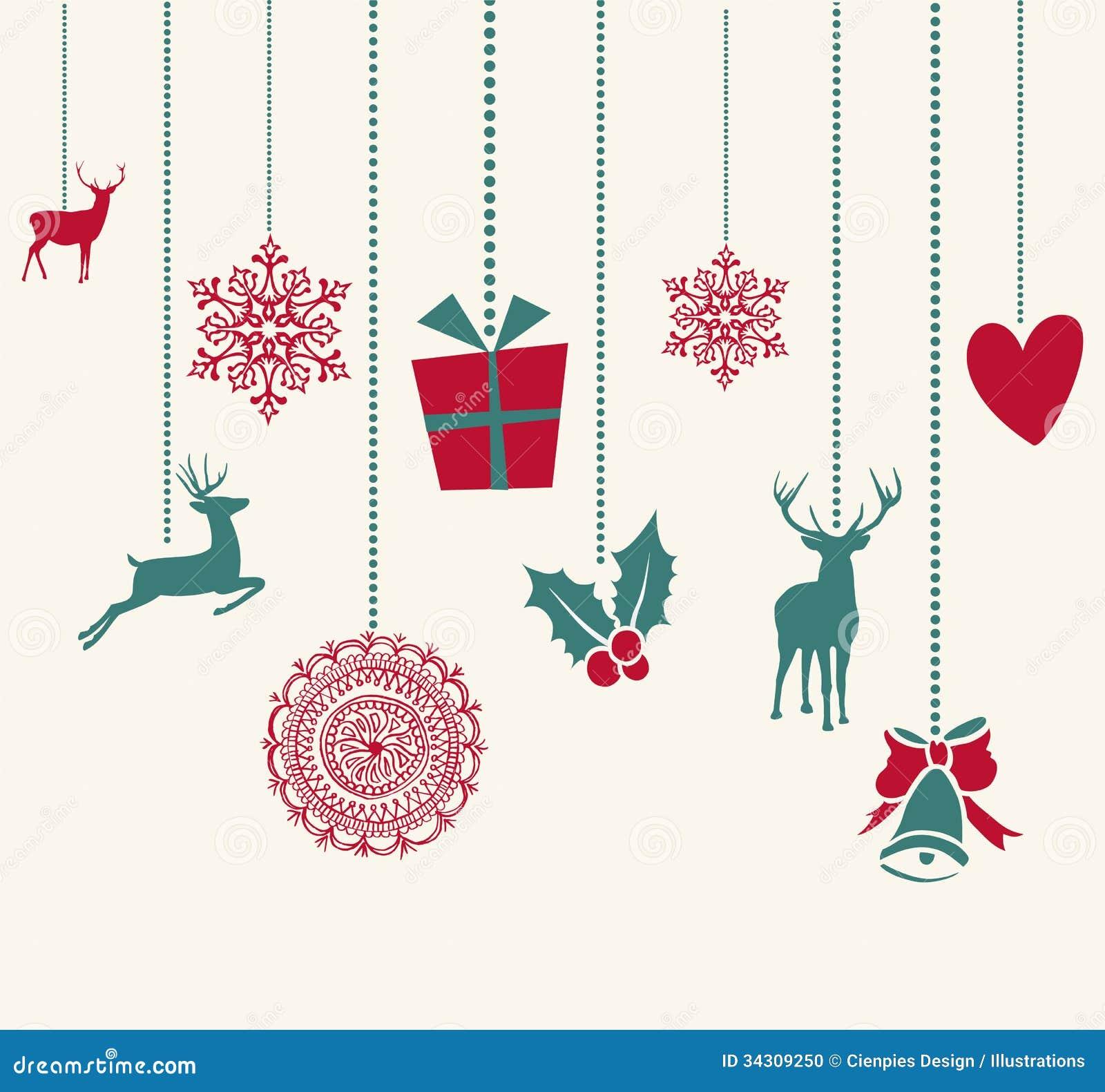 Новогодние узоры открытка