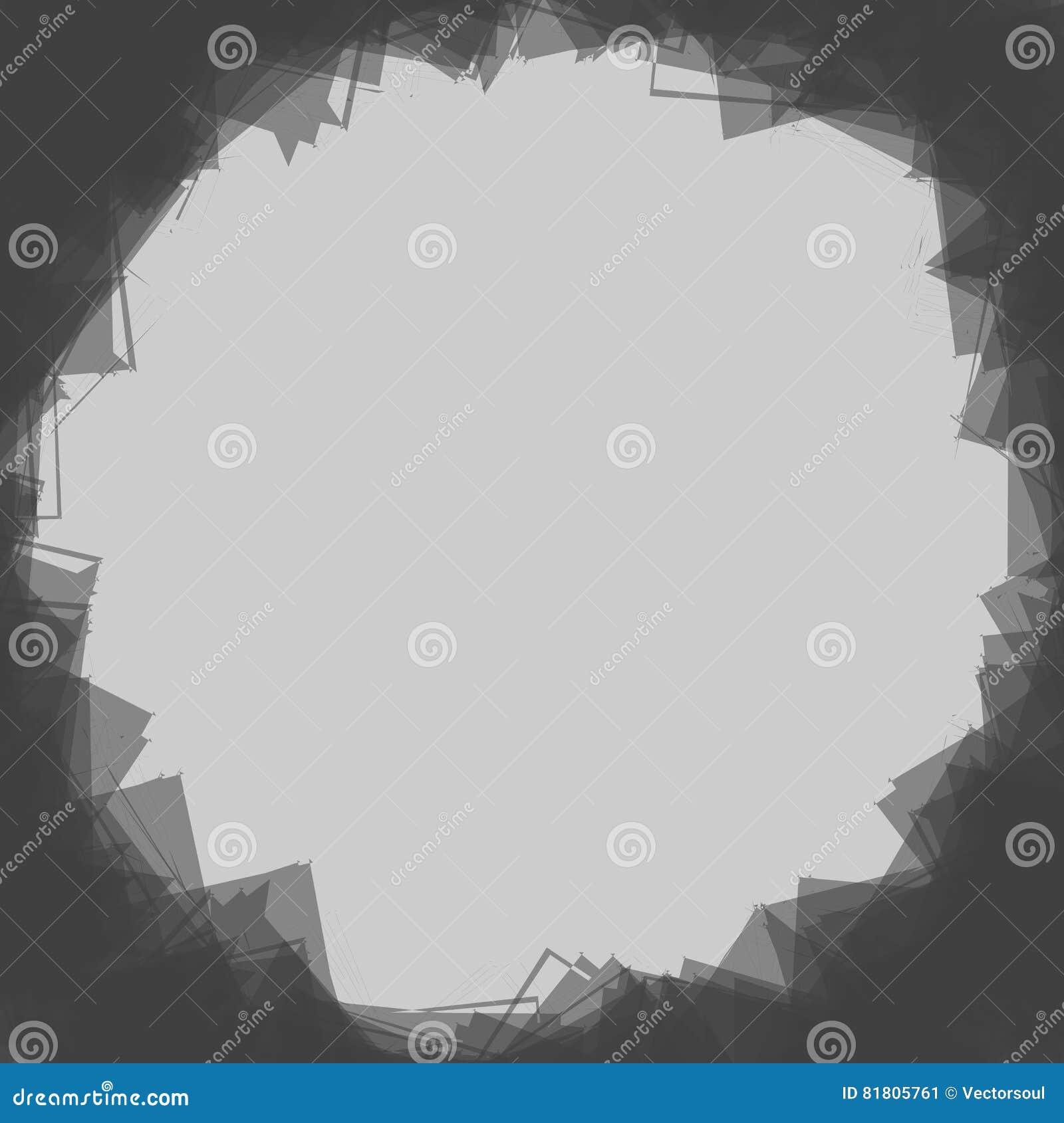 Случайные разбросанные формы Смогите быть использовано как рамка или предпосылка