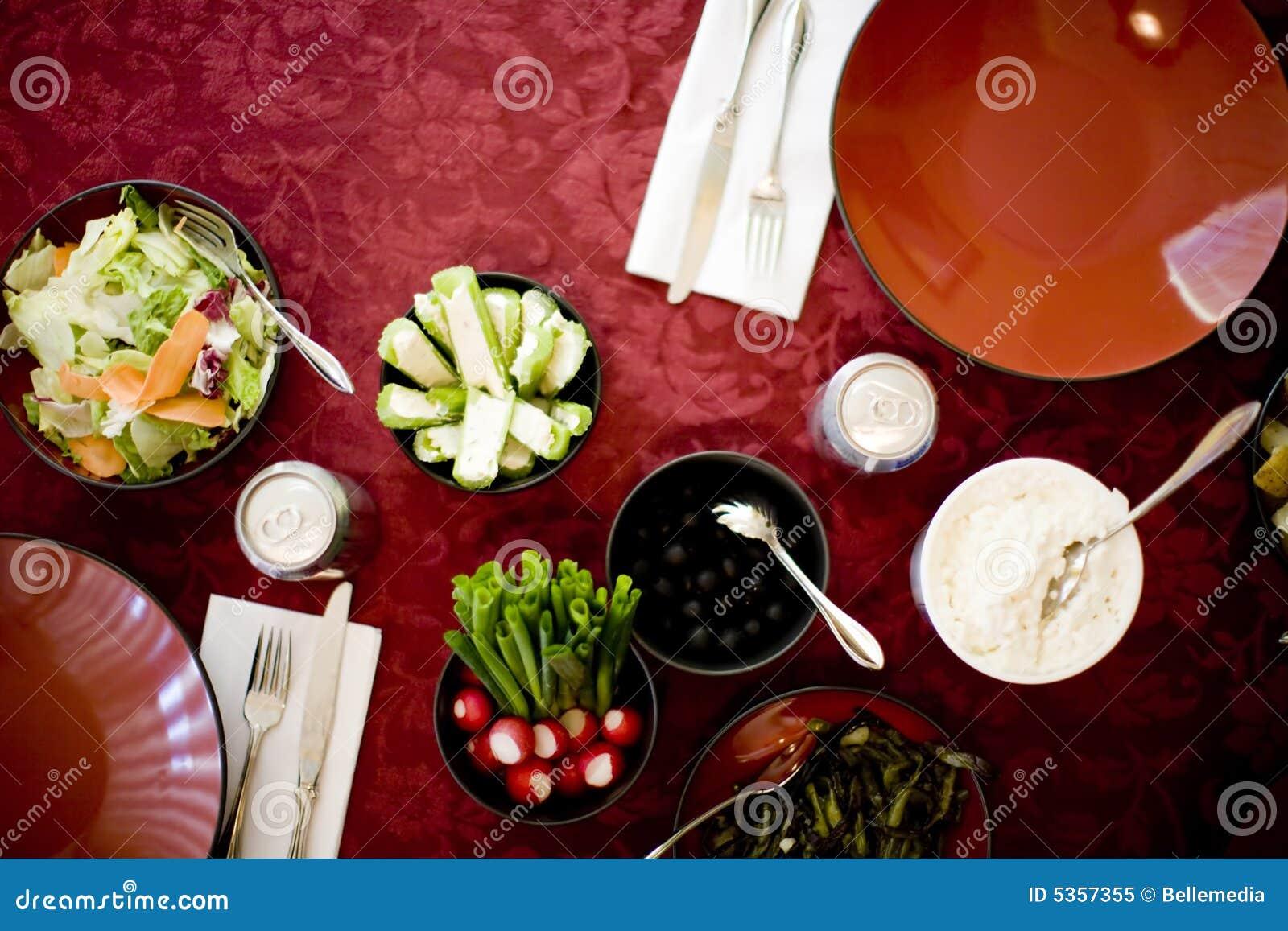 таблица еды