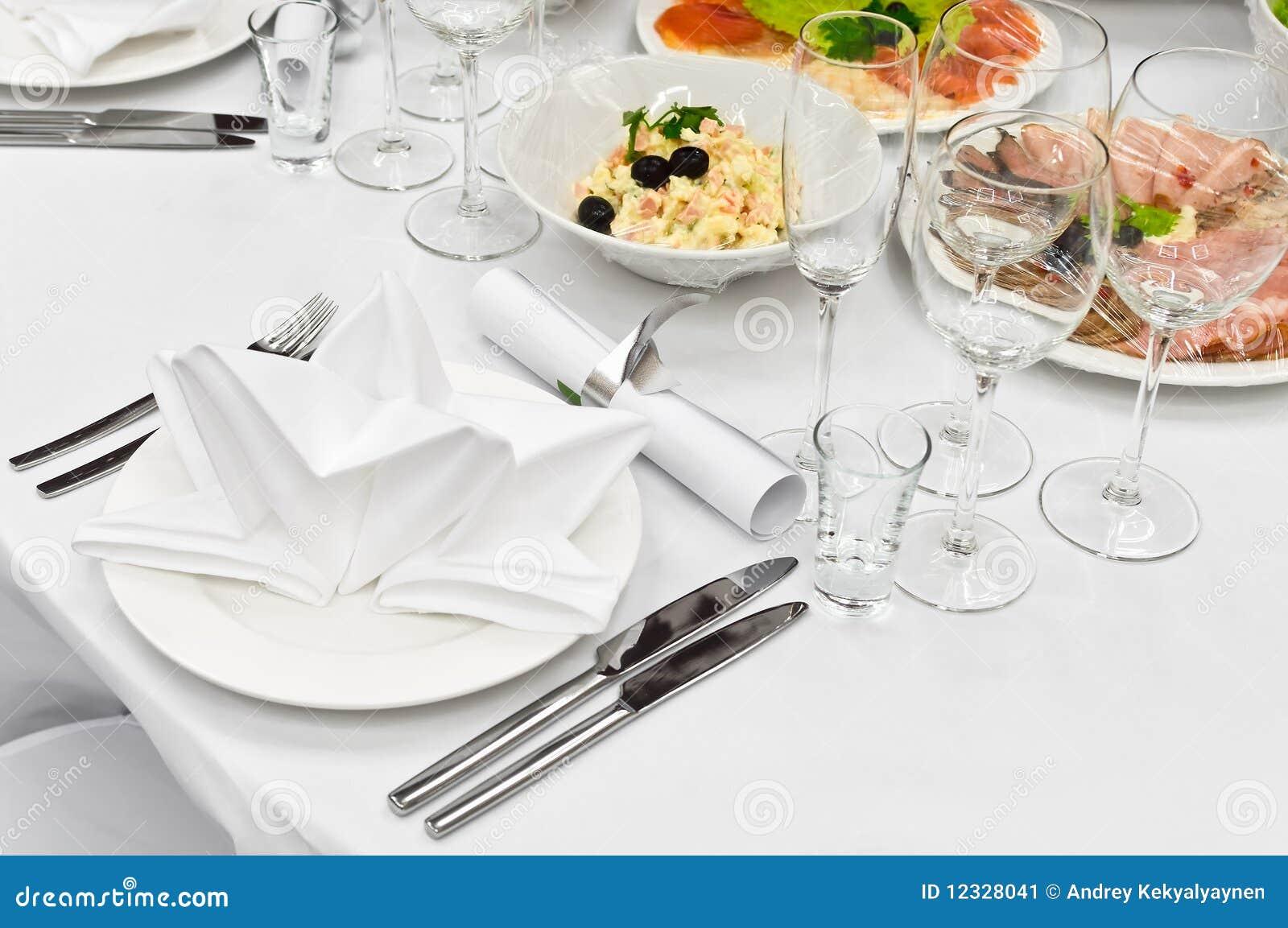 таблица ресторана обеда назначений