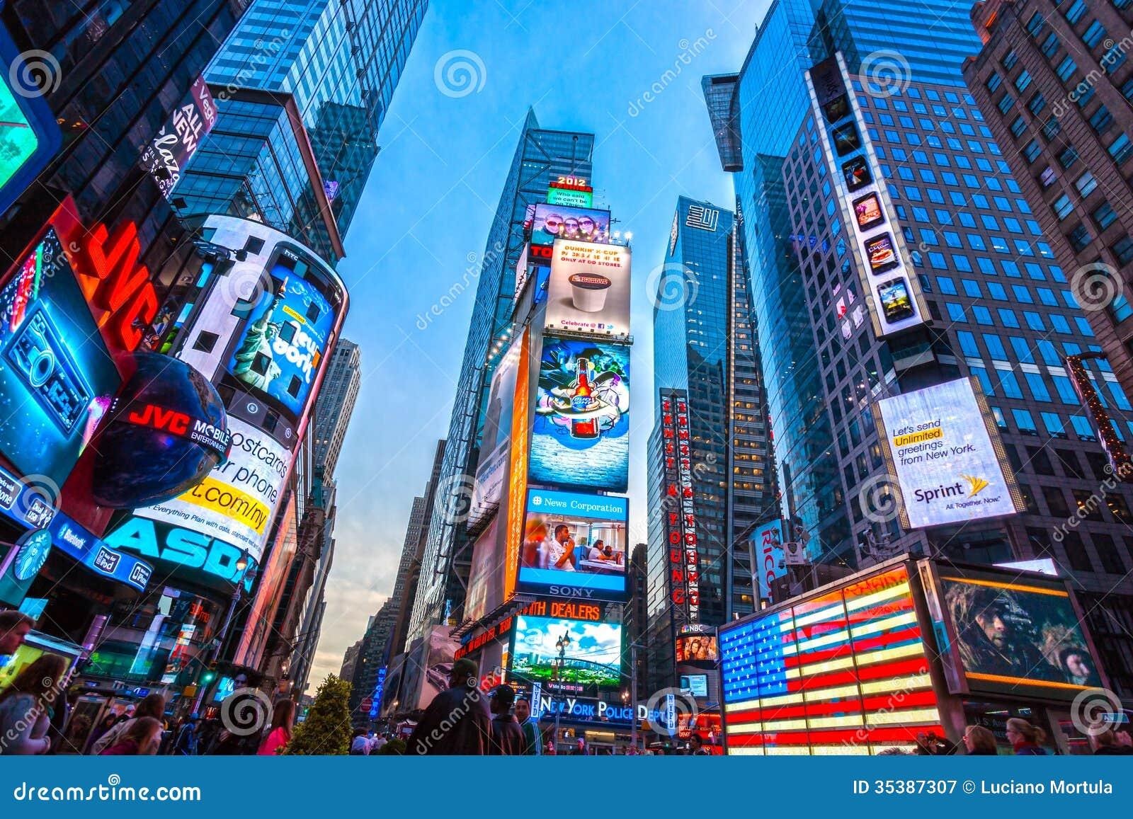 Таймс площадь, Нью-Йорк