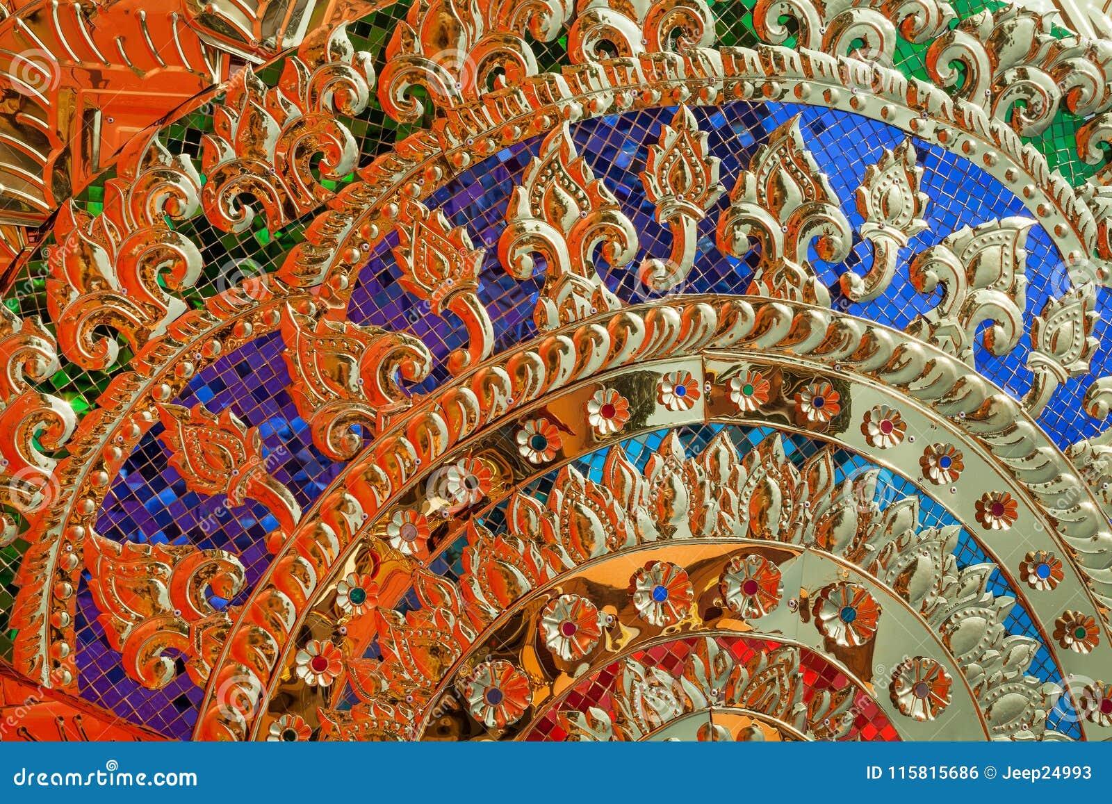 Тайна абстрактной предпосылки золота красочная
