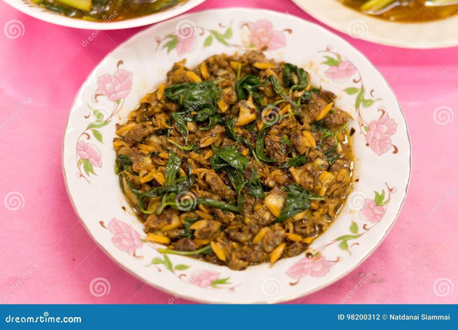 Download Тайская и китайская еда стоковое фото. изображение насчитывающей овощ - 98200312