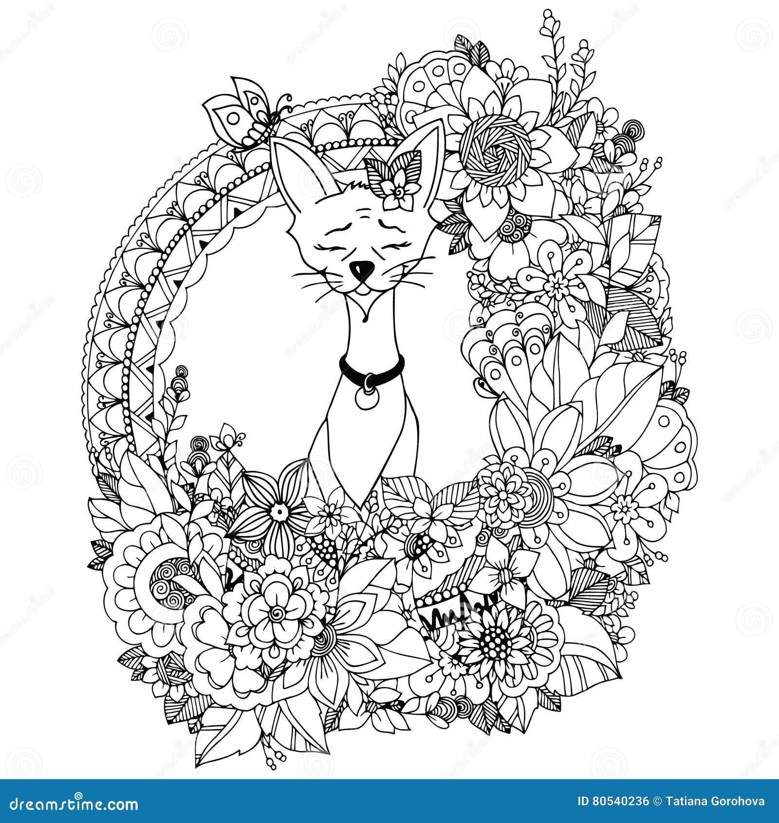 также вектор иллюстрации притяжки Corel Doodle рисуя ...