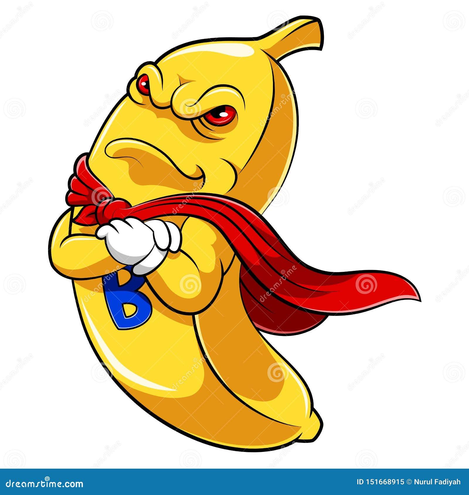 Талисман супергероя банана