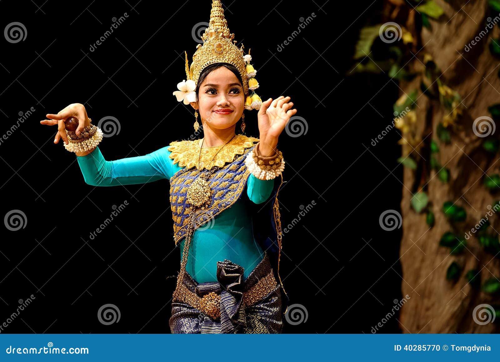 Танец Apsara
