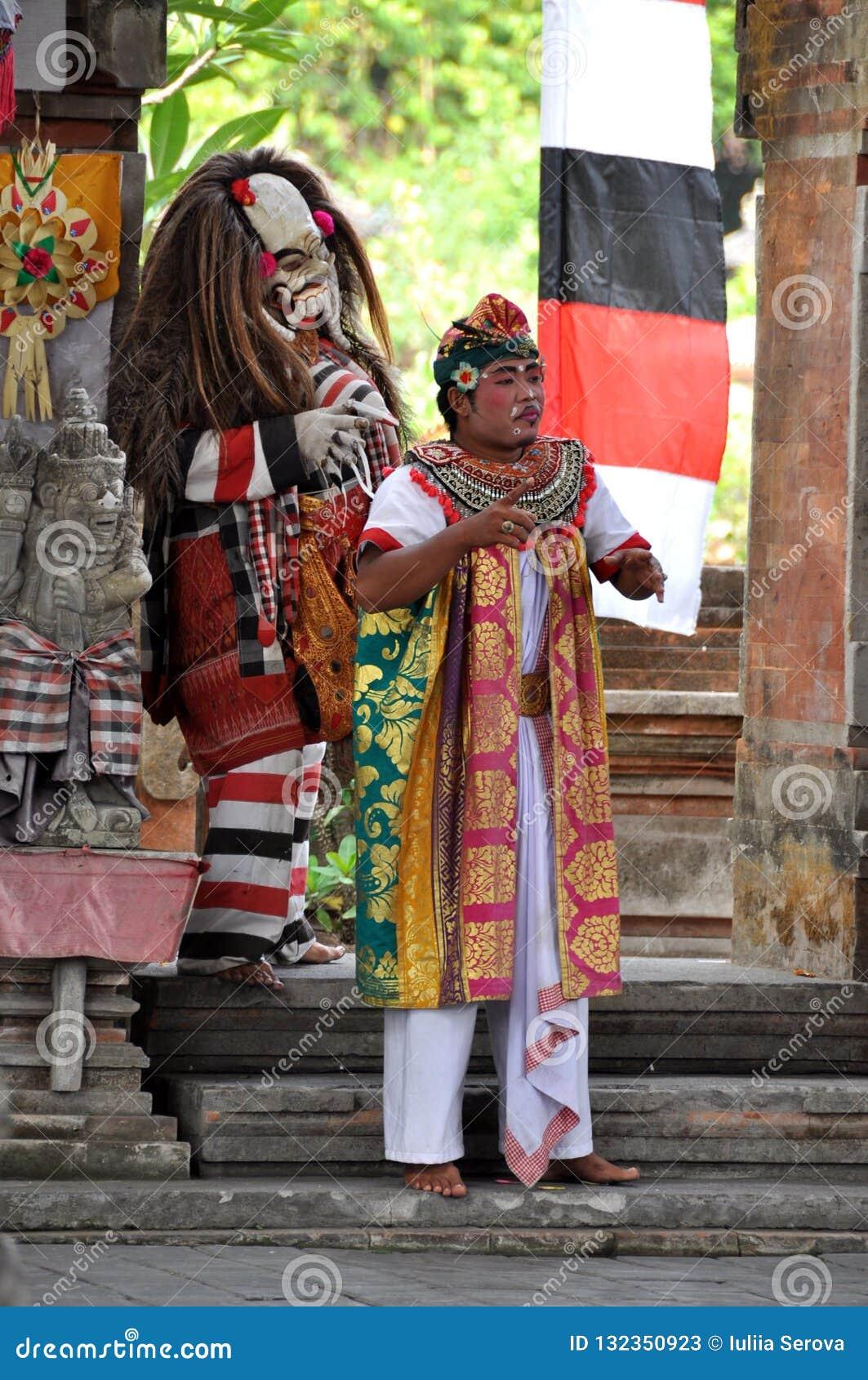 Танец Barong на Бали