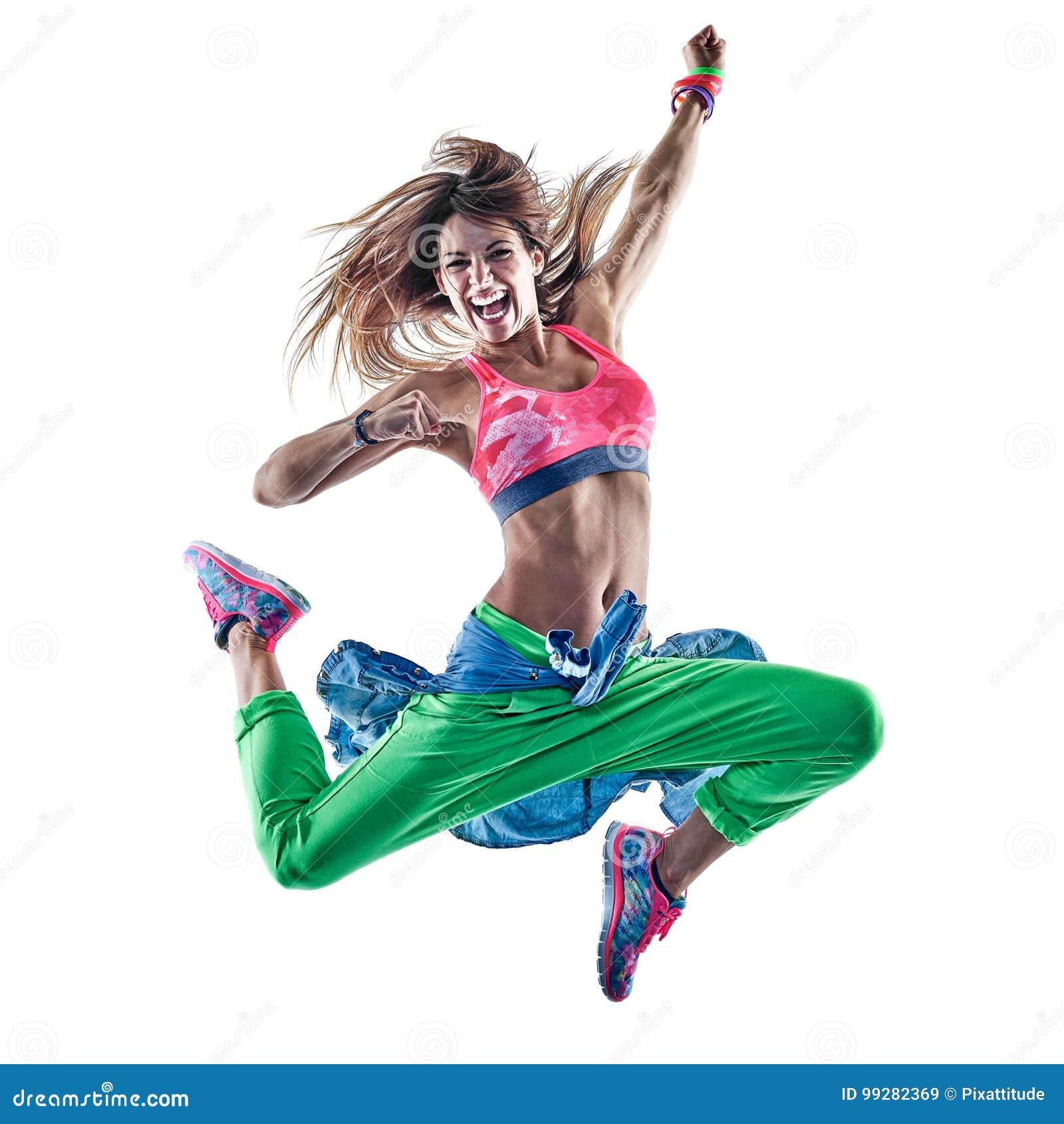 Танцоры женщины cardio танцуя фитнес работая isolat excercises