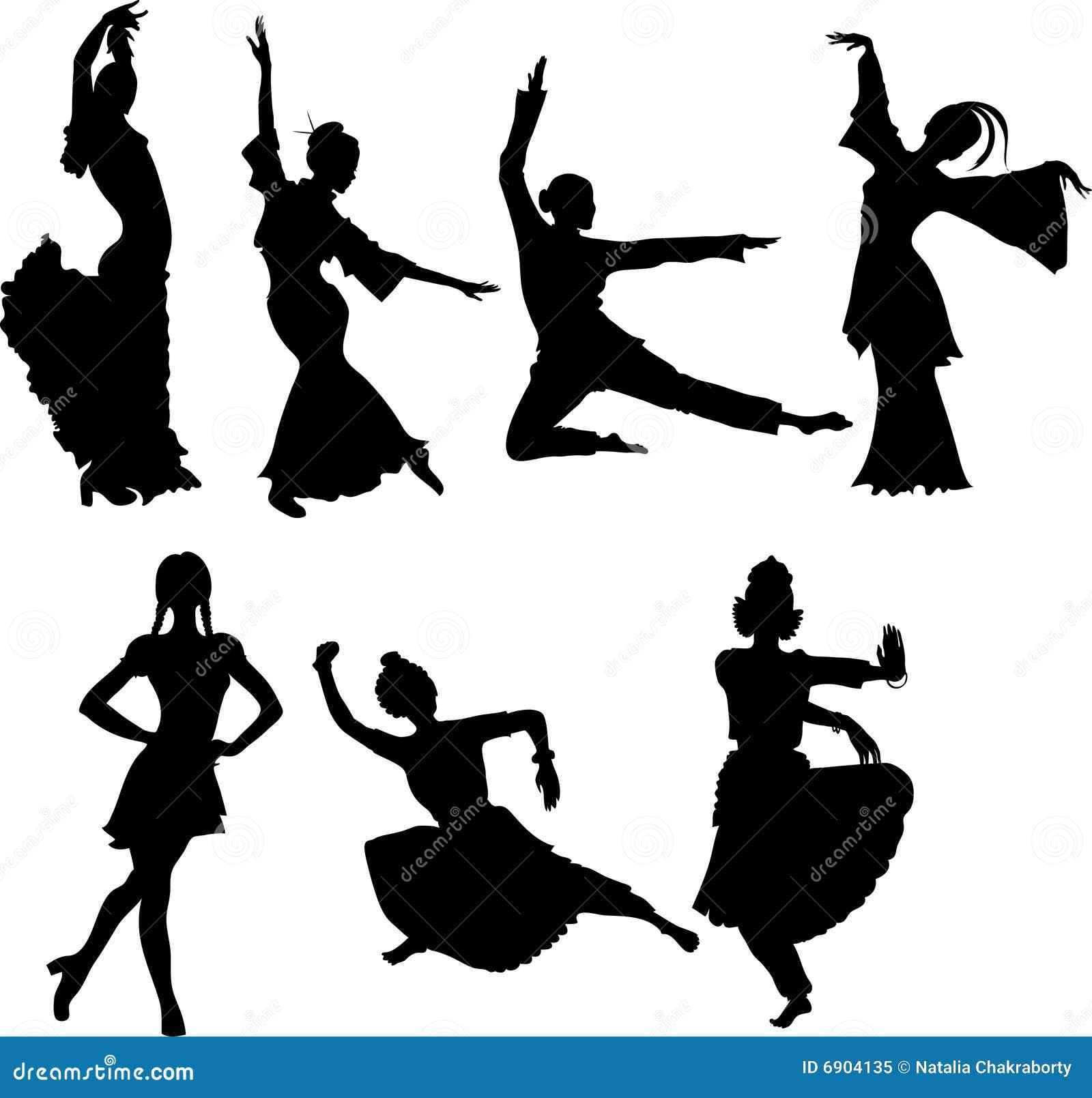 танцует люди