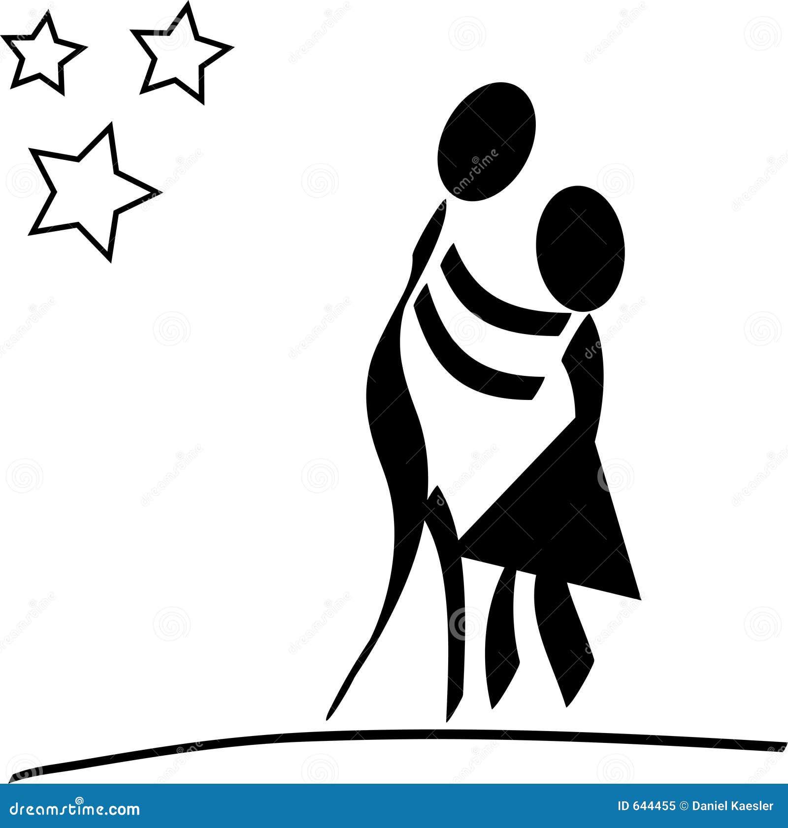 Download танцы пар иллюстрация штока. иллюстрации насчитывающей астетически - 644455