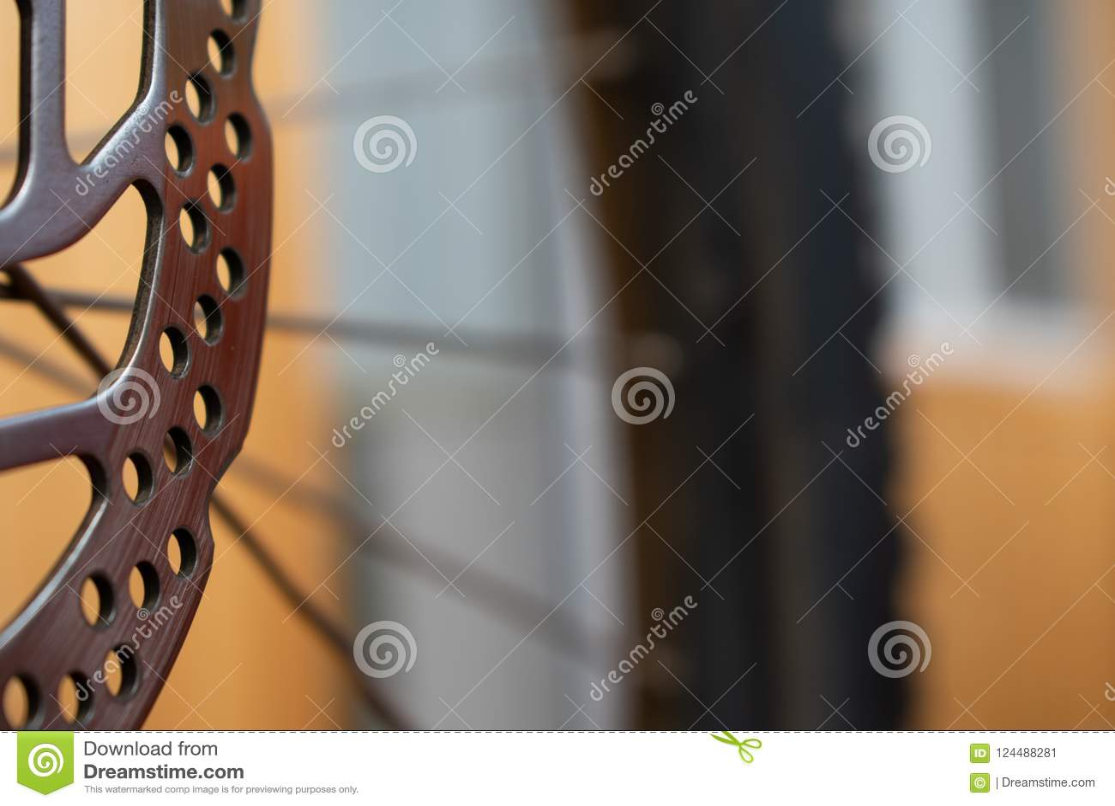 Тарельчатые тормозы велосипеда велосипед