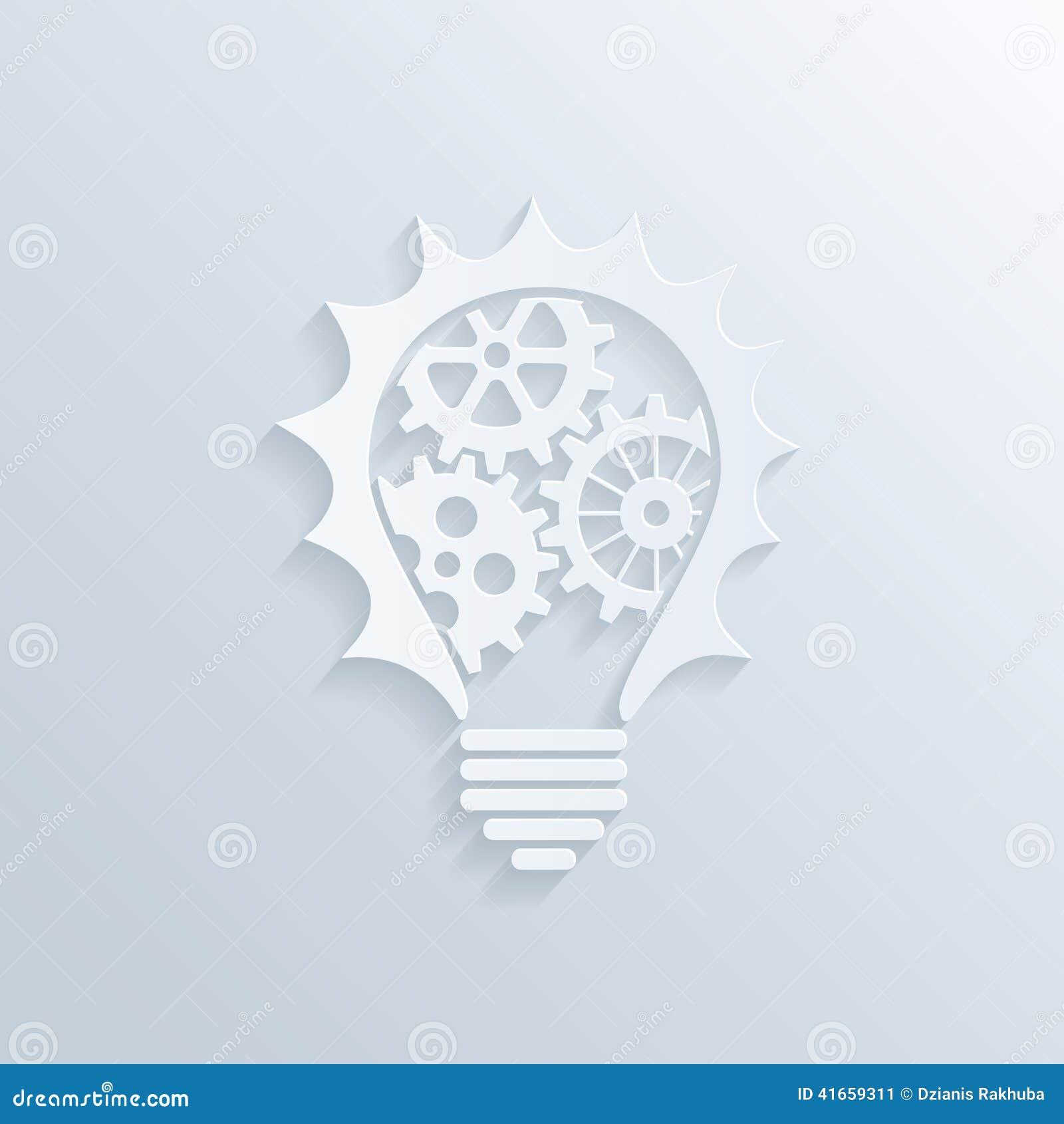 Творческая лампочка