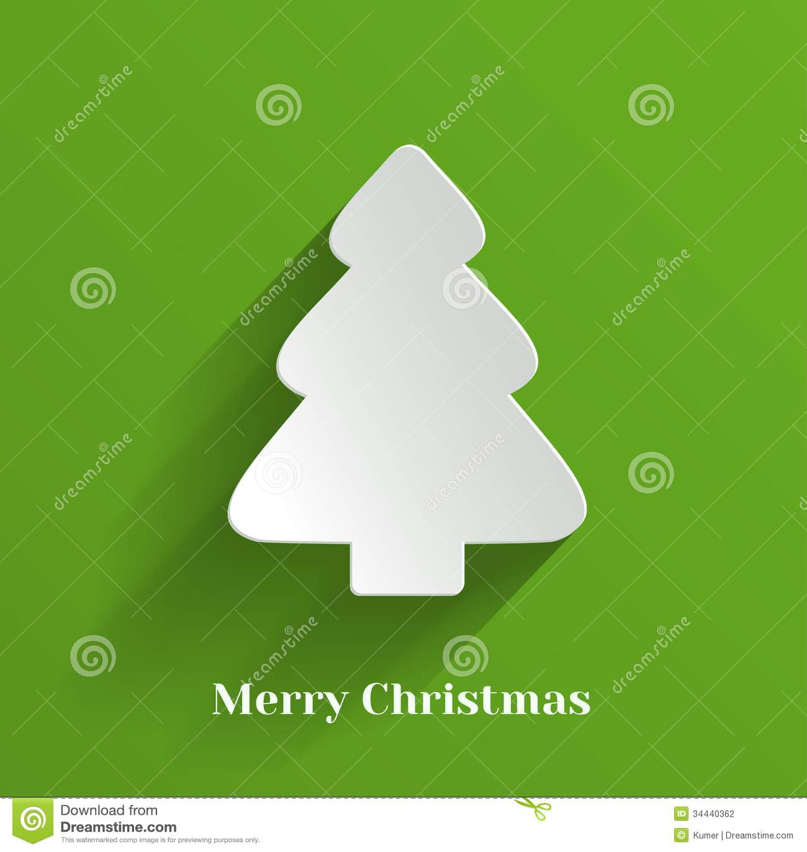 Творческая белая рождественская елка