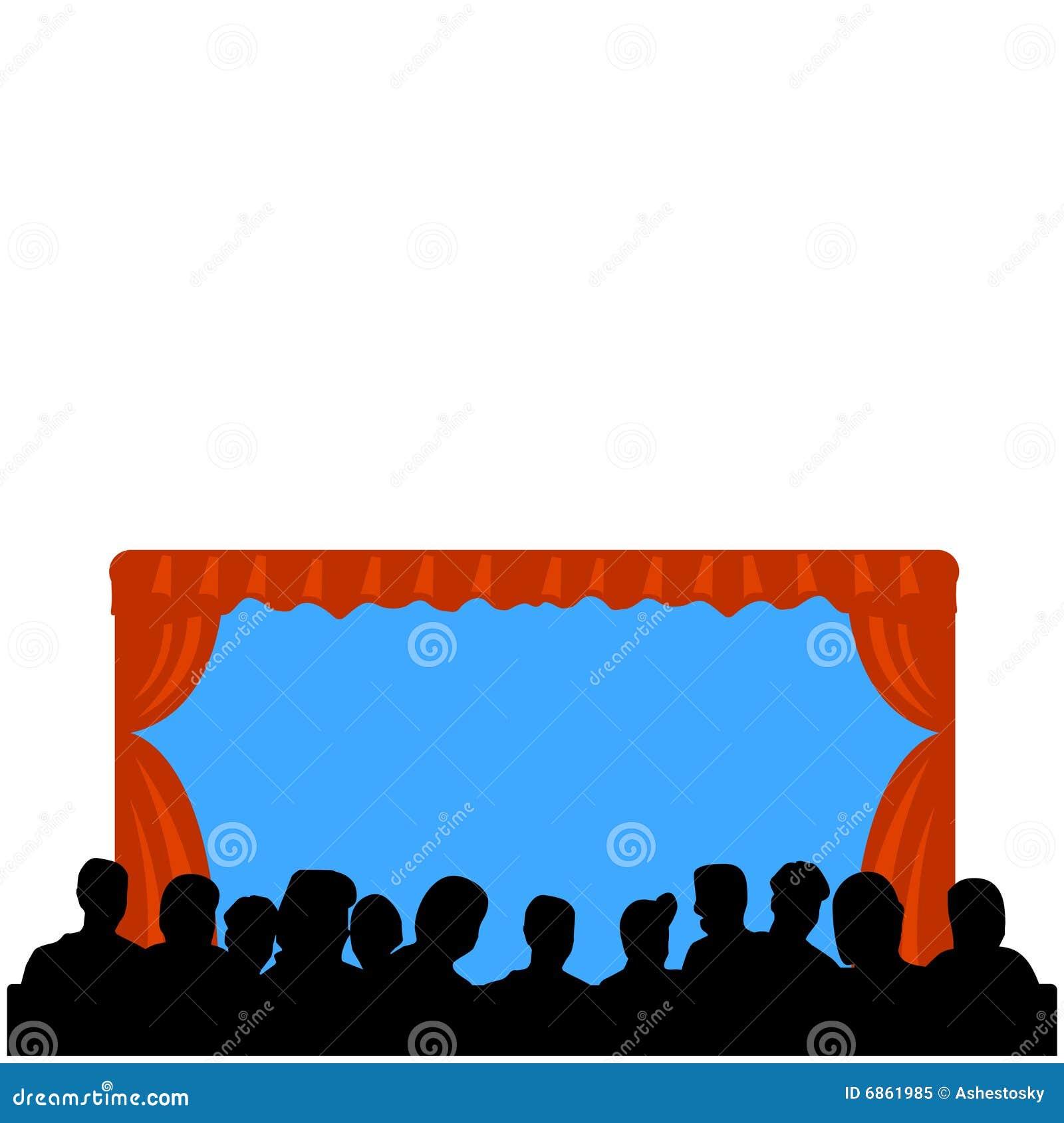 театр посещаемости просто