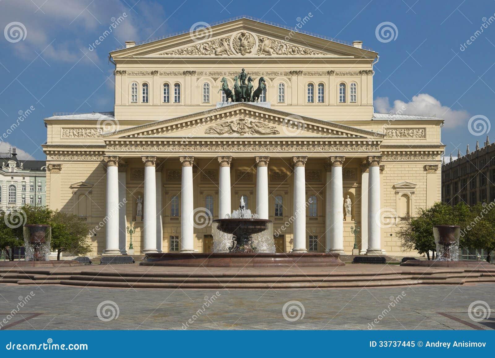 Театр Bolshoi, Москва, Россия
