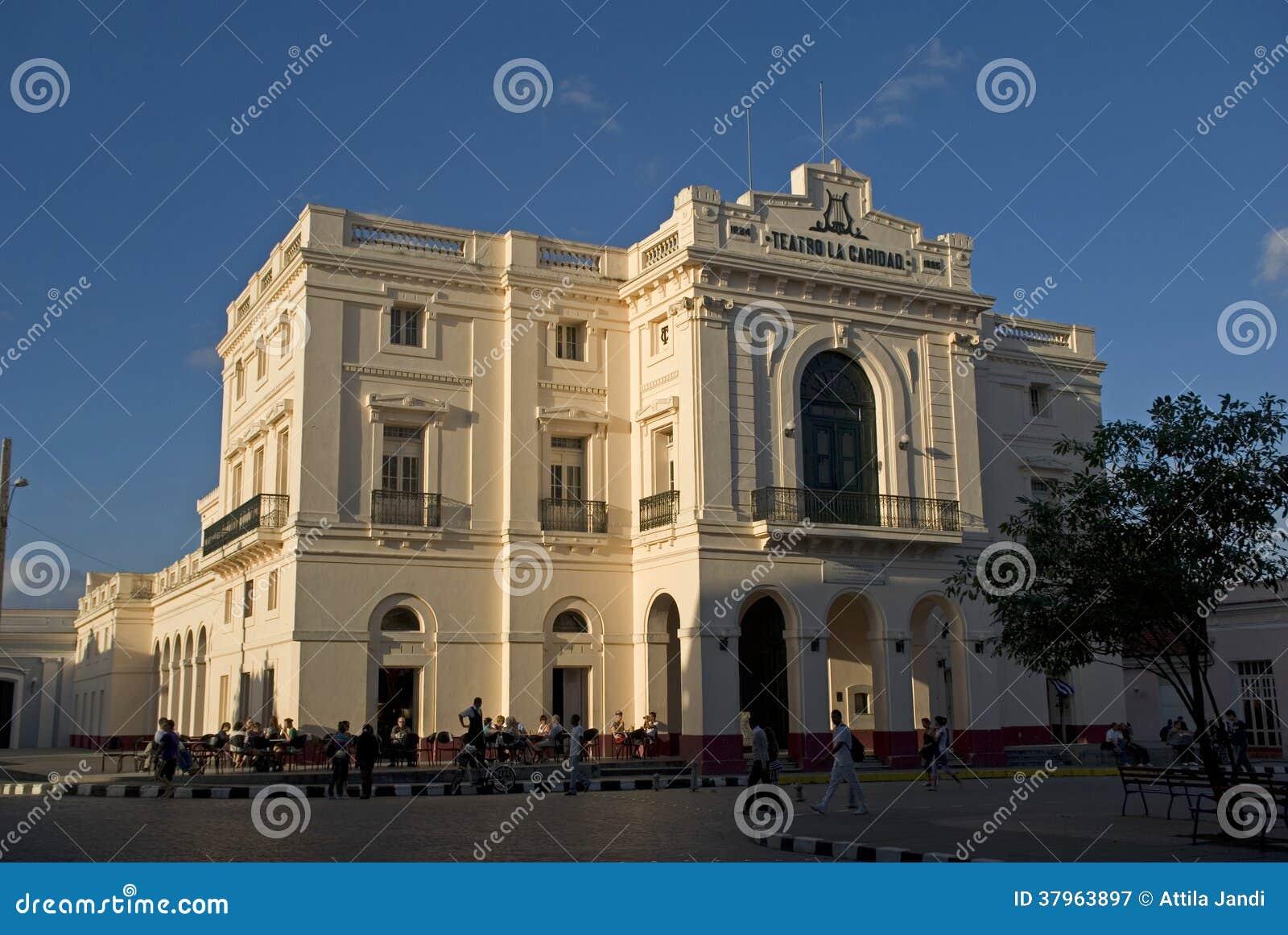 Театр Caridad, Santa Clara, Куба