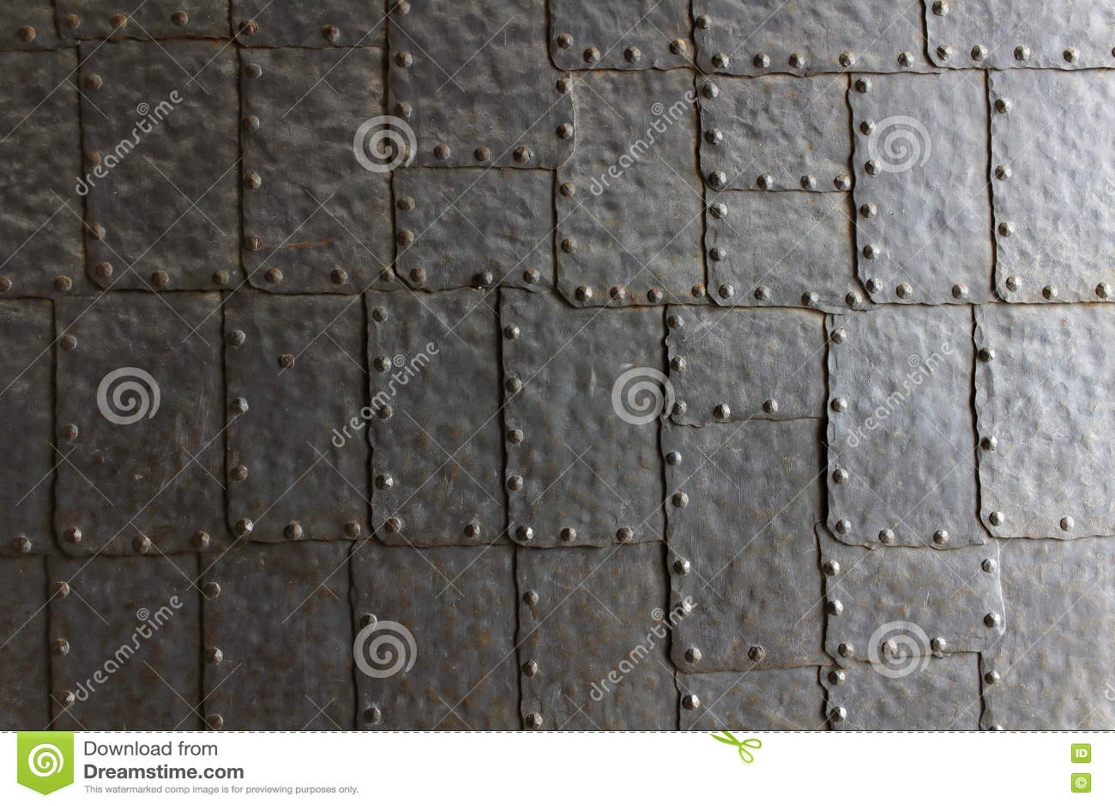 Текстура двери стальной пластины