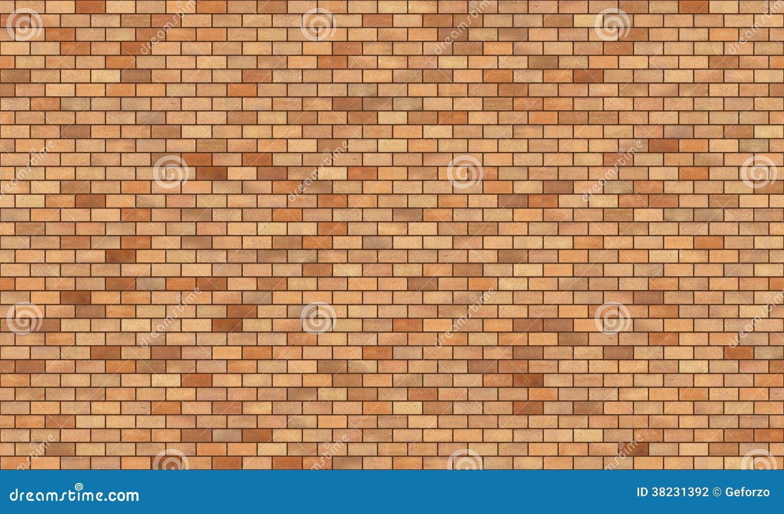 Текстура высокого разрешения кирпичной стены безшовная