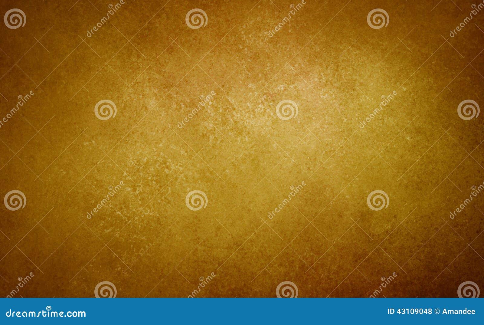 Текстура года сбора винограда бумаги предпосылки золота коричневая