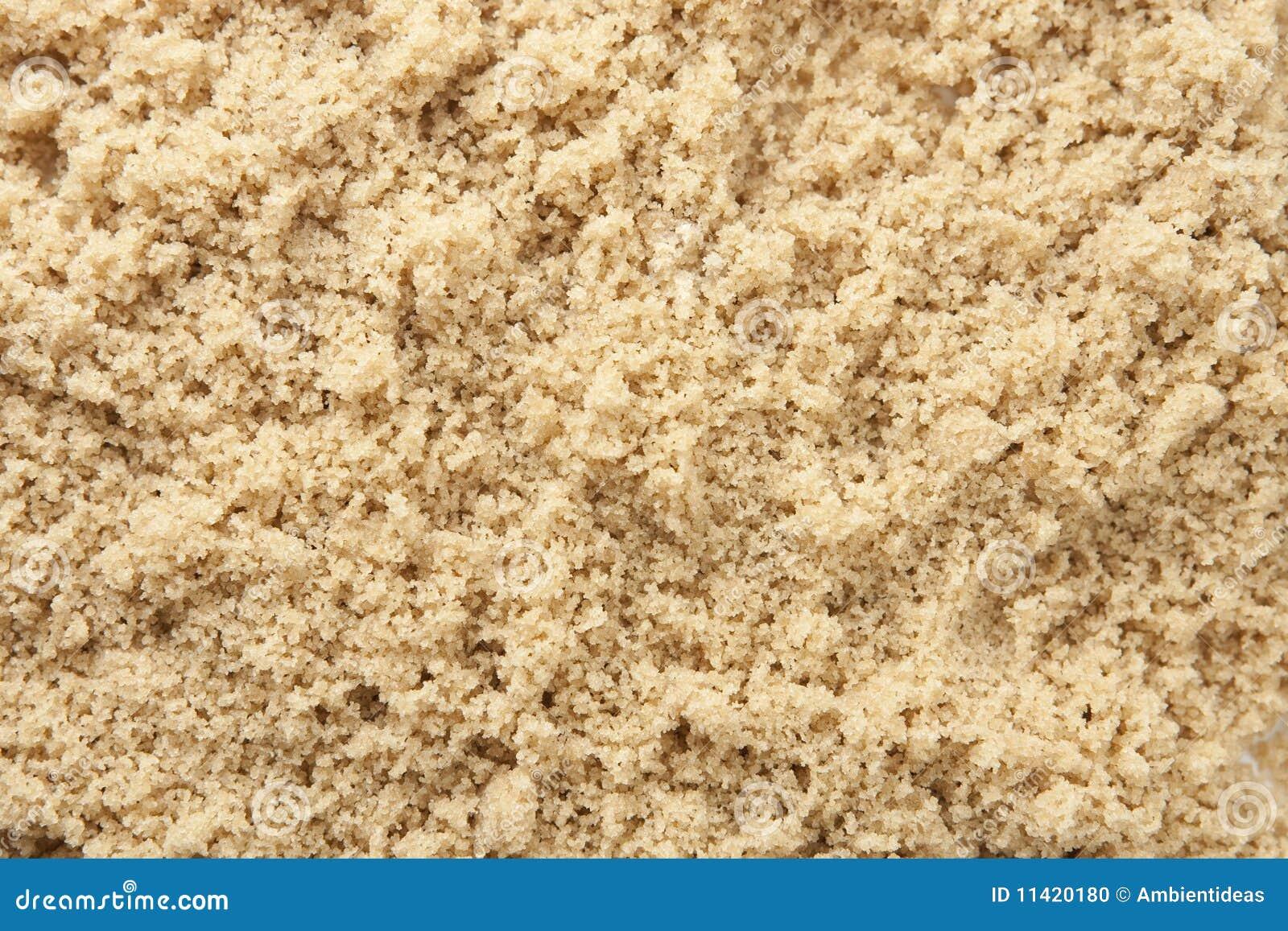 Сахарный песок желтого цвета