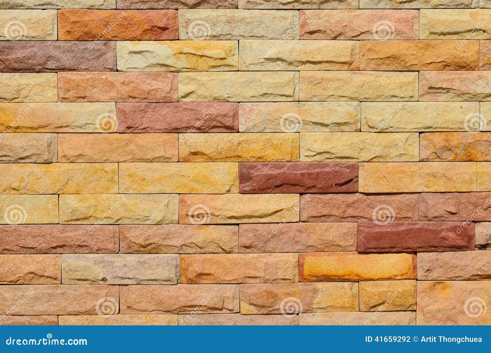 Текстура кирпичной стены высокого разрешения красочная