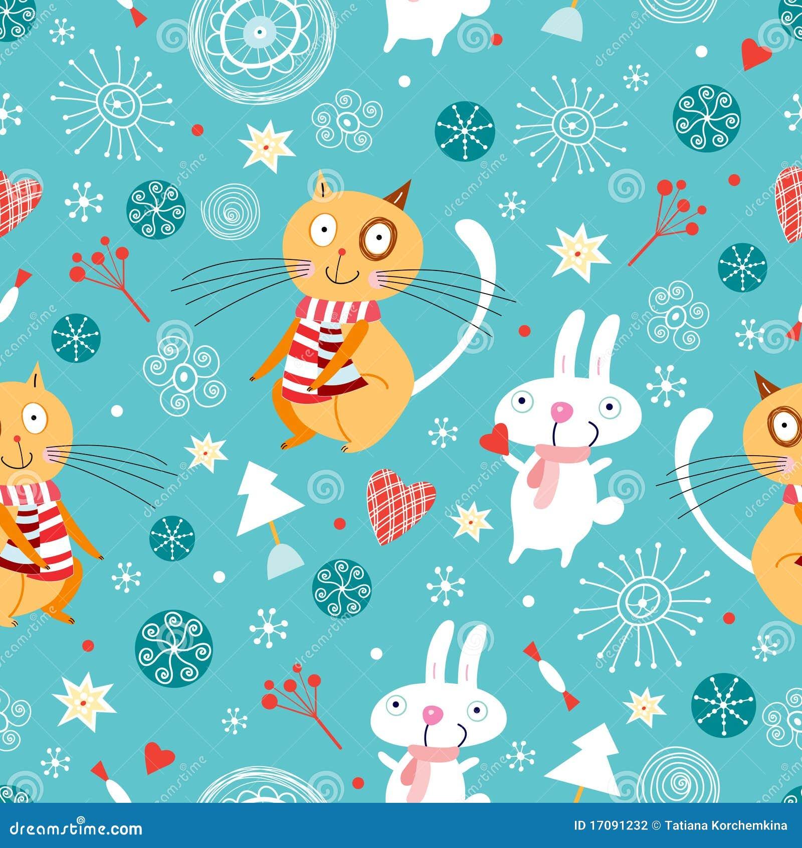 текстура кроликов котов