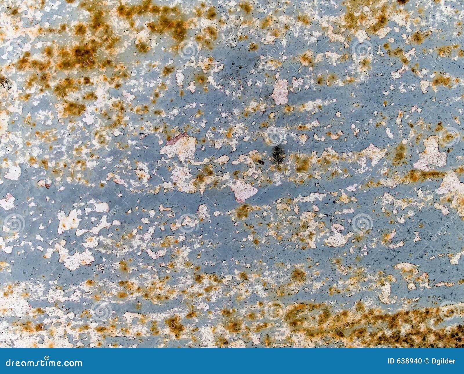 Download Текстура макроса - металл - ржавая краска шелушения Стоковое Фото - изображение насчитывающей грязь, песчинка: 638940